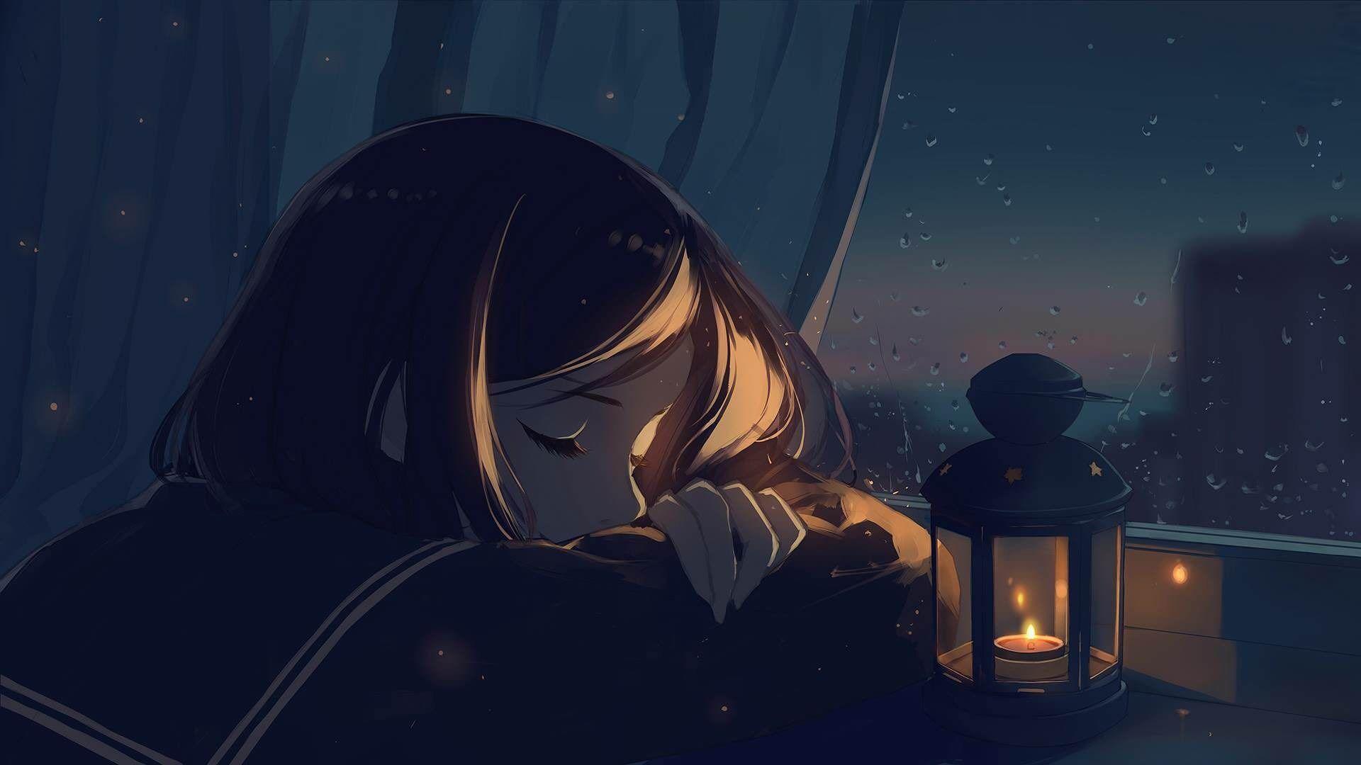 Sleeping Anime Girl Wallpapers Wallpaper Cave