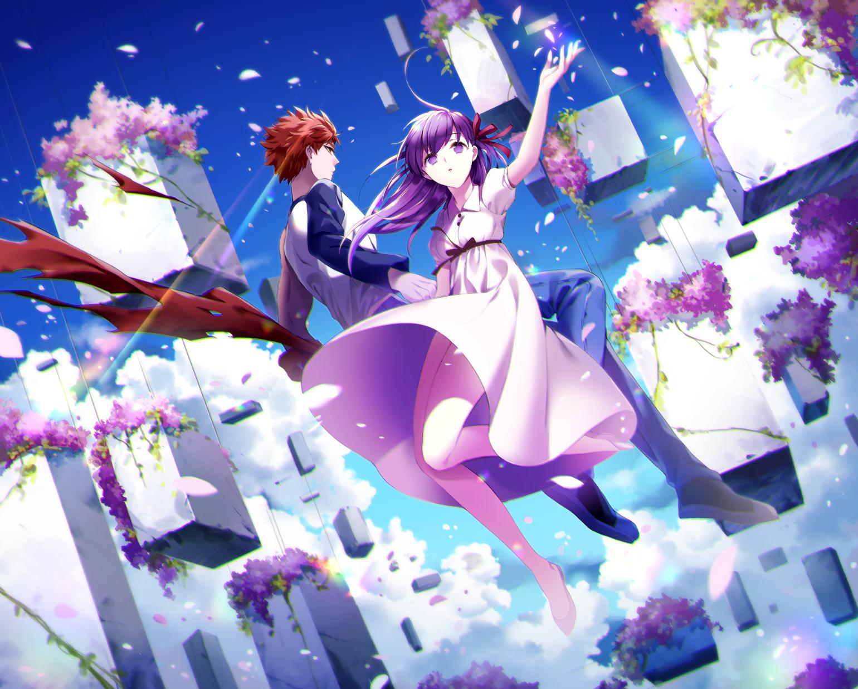 Fate Stay Night Heaven S Feel I Presage Flower Wallpapers