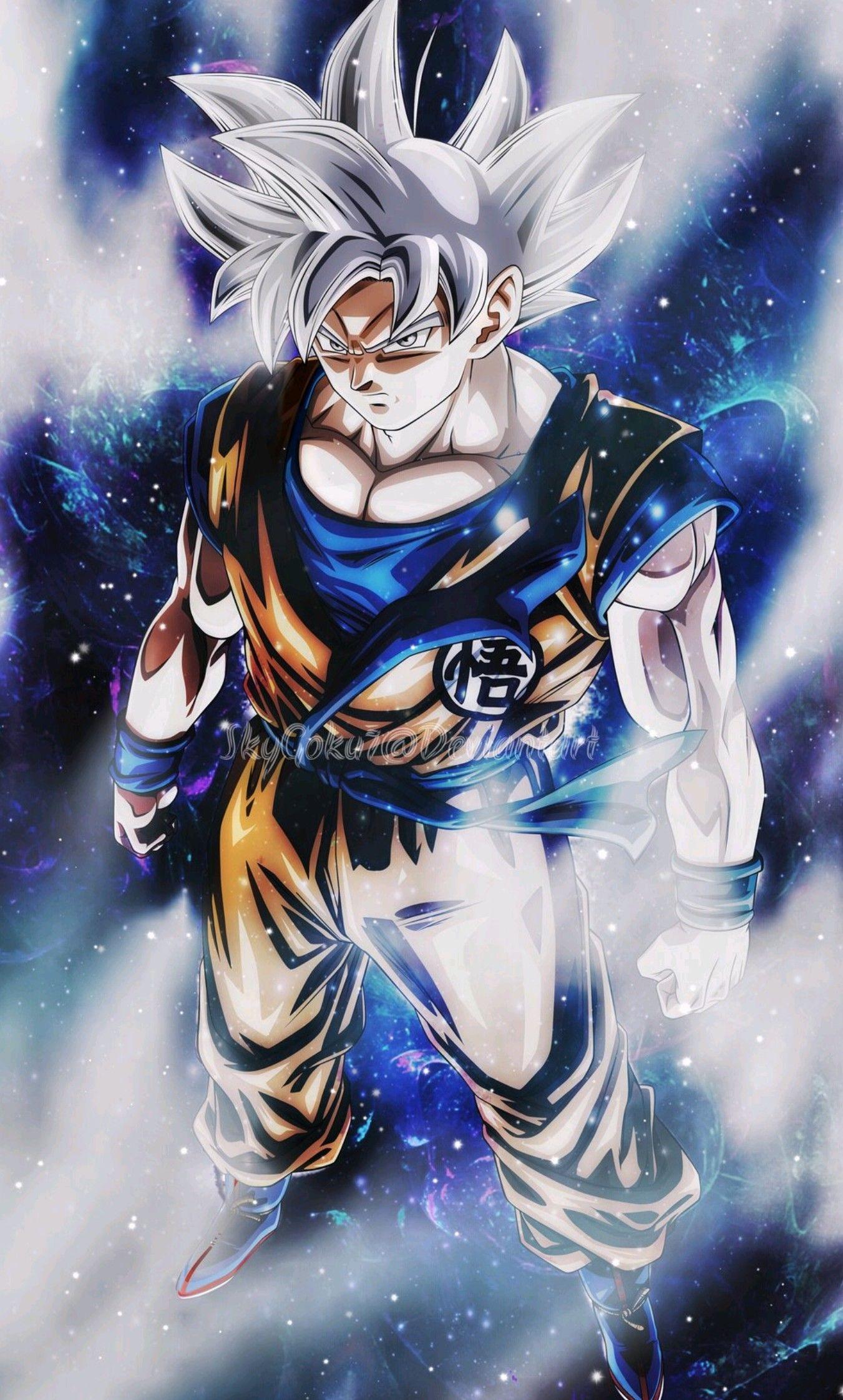 Goku Ultra Instinct Mobile Wallpapers Wallpaper Cave