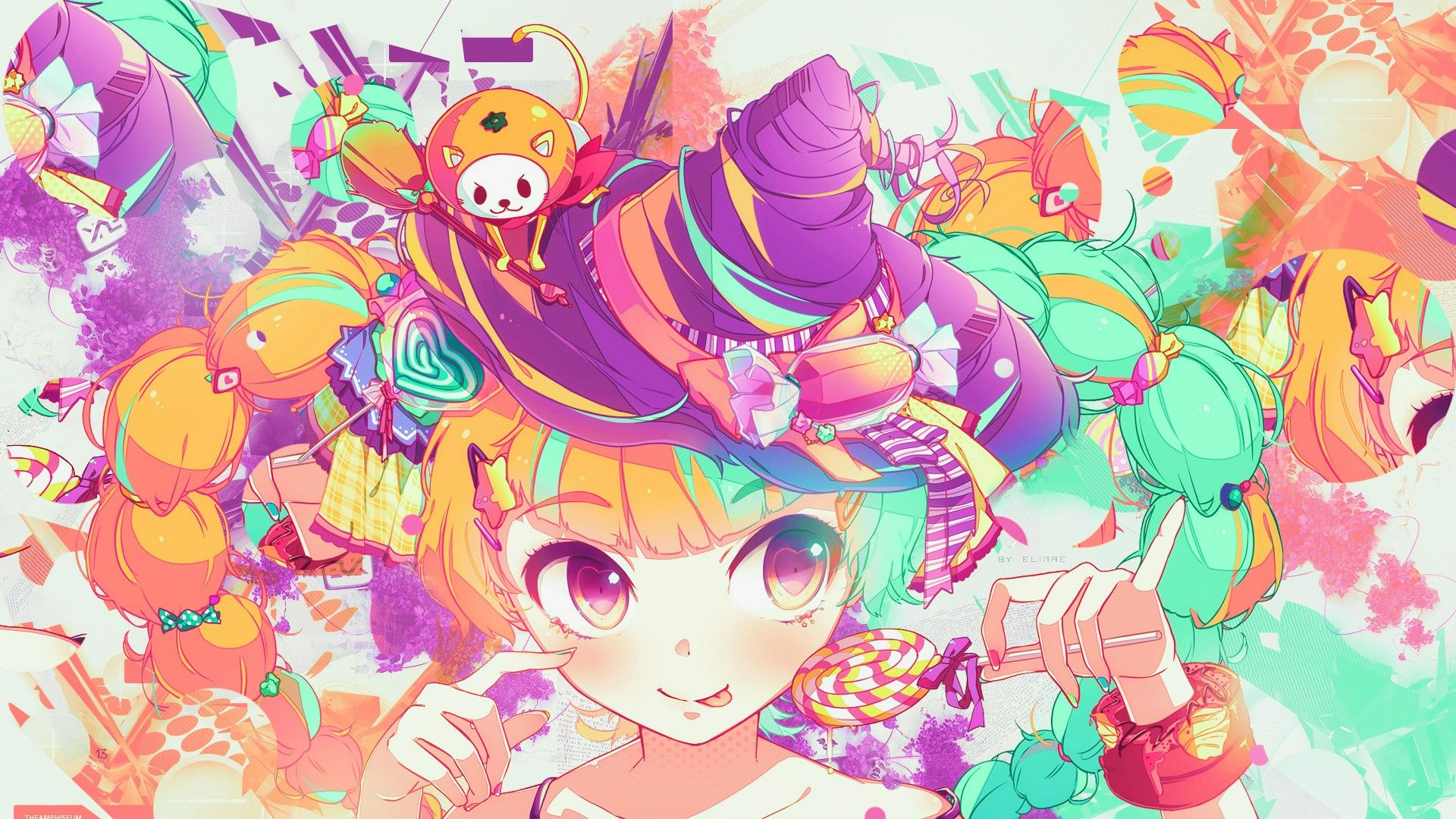 Colorful Anime Wallpapers - Wallpaper Cave