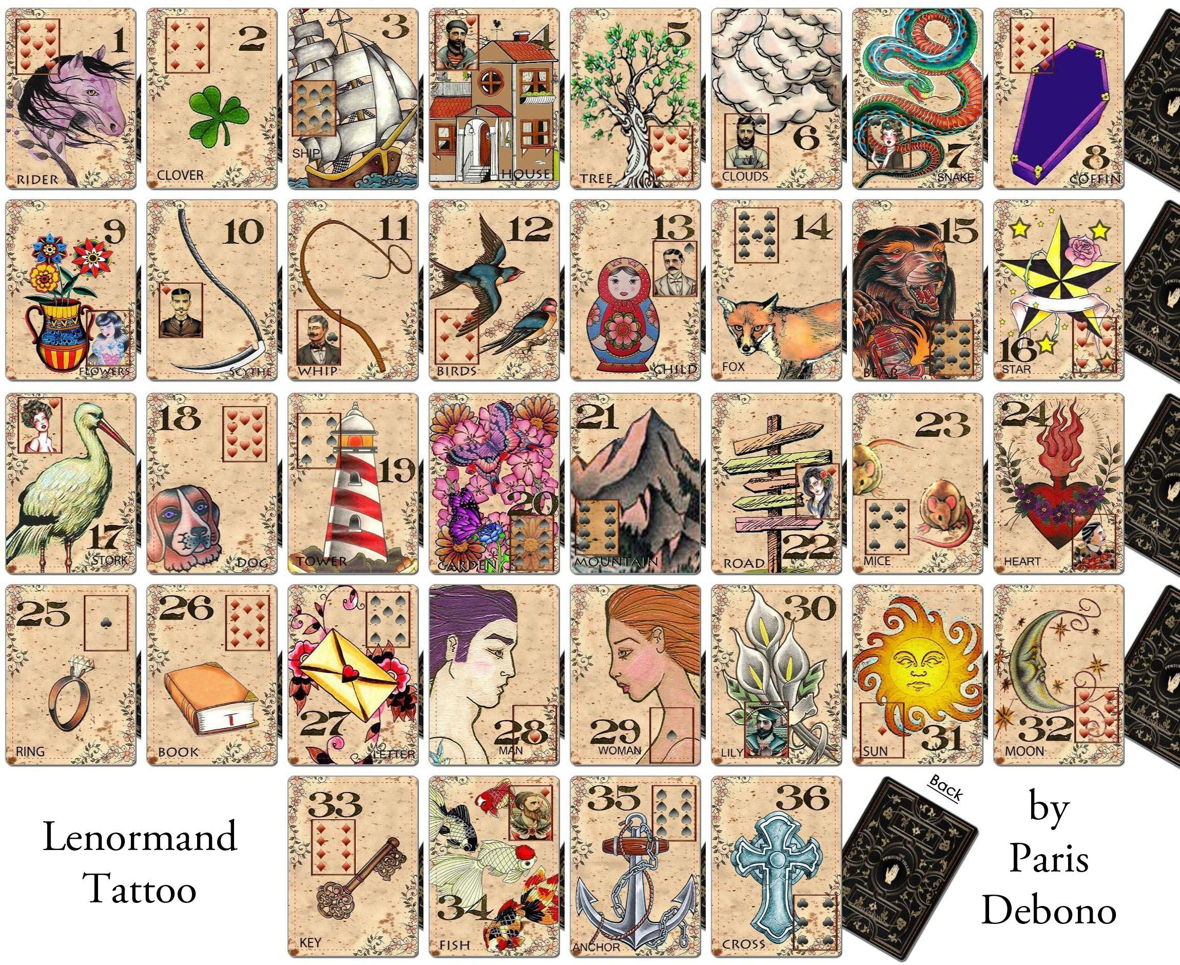 Lenormand Wallpapers Wallpaper Cave