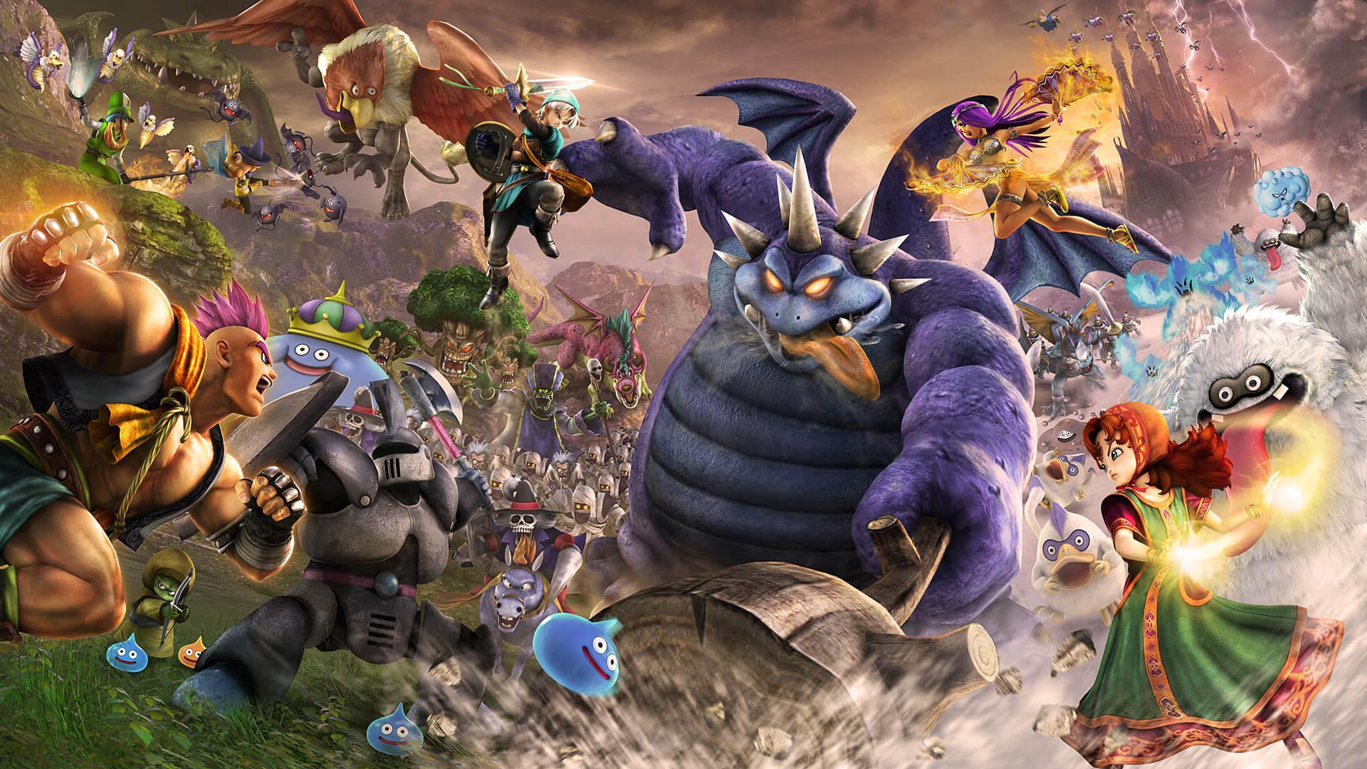 Dragon Quest 11 Desktop Wallpapers - Wallpaper Cave