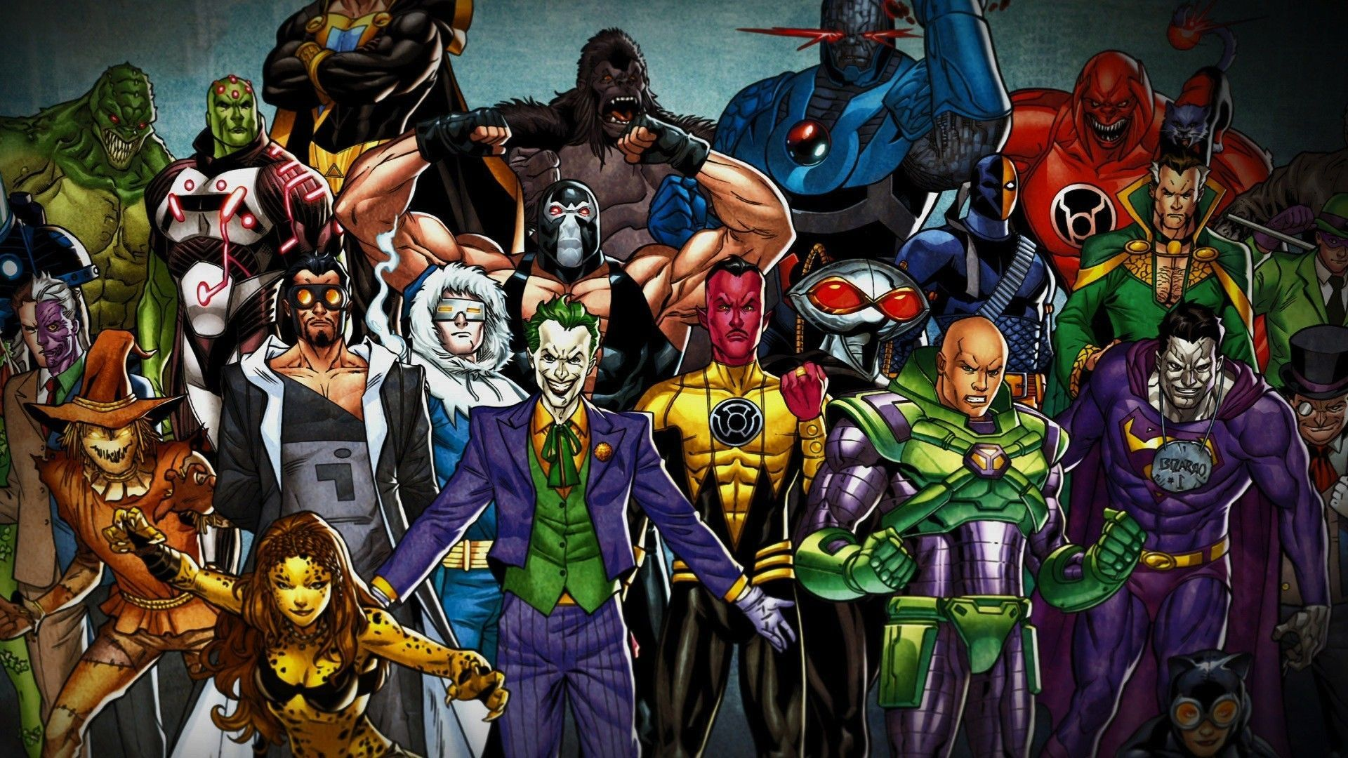 Justice League Villains Wallpapers Wallpaper Cave