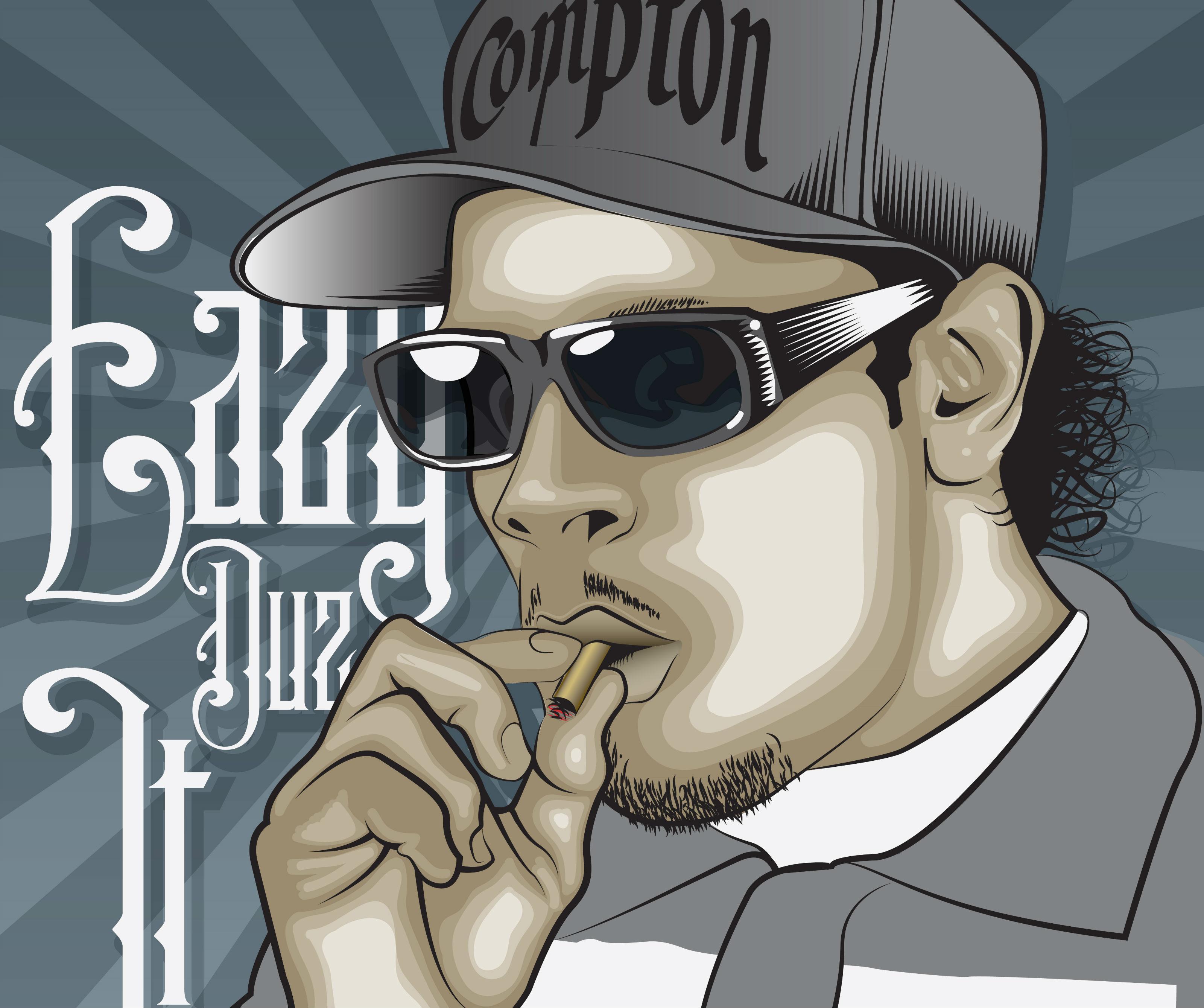 Eazy E nwa gangsta rapper rap hip hop eazy-e marijuana weed 420 d ...
