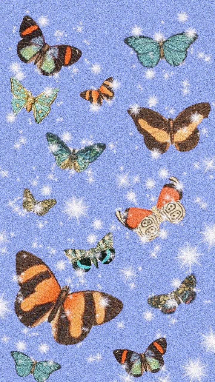 Butterfly Aesthetic Wallpapers - Wallpaper Cave