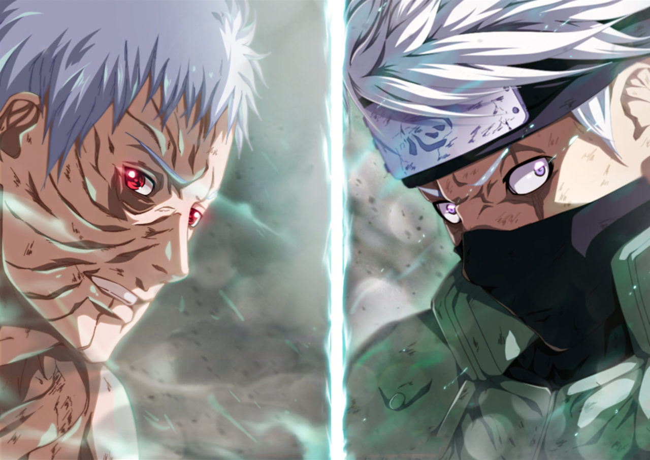 Naruto Vs Kakashi Wallpapers Wallpaper Cave