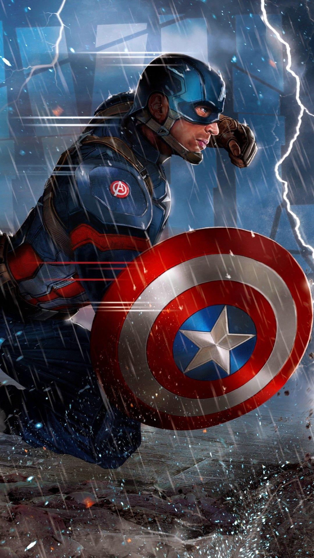 Captain America Hd Mobile Wallpapers Wallpaper Cave