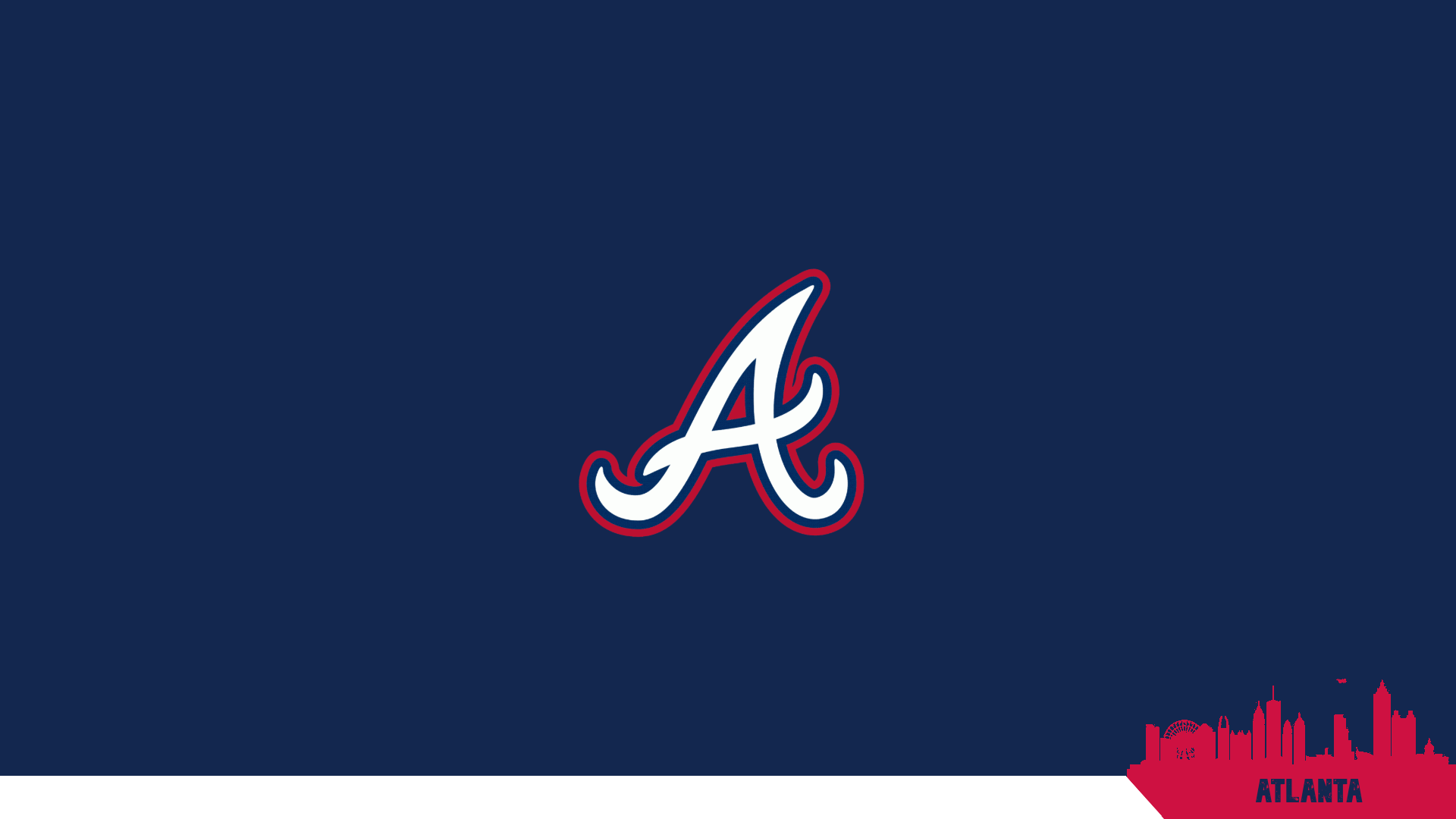 Atlanta Braves Desktop Hd Wallpapers Wallpaper Cave