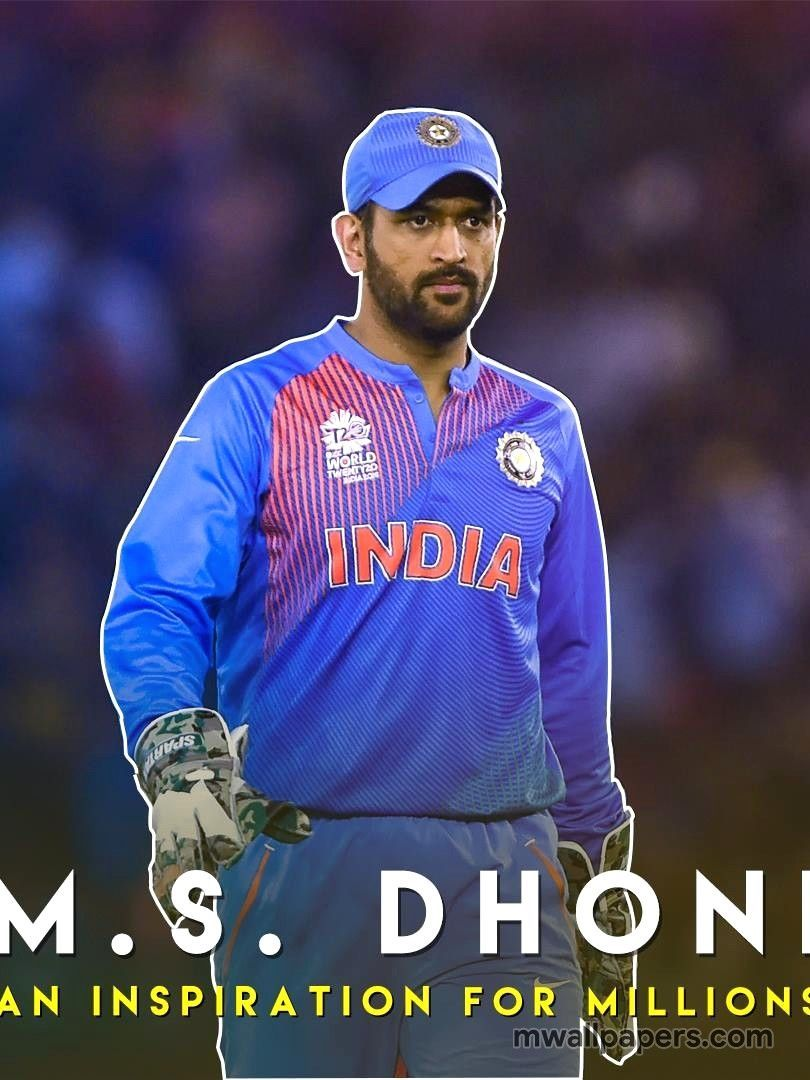 Ms Dhoni Full Hd Mobile Wallpapers Wallpaper Cave