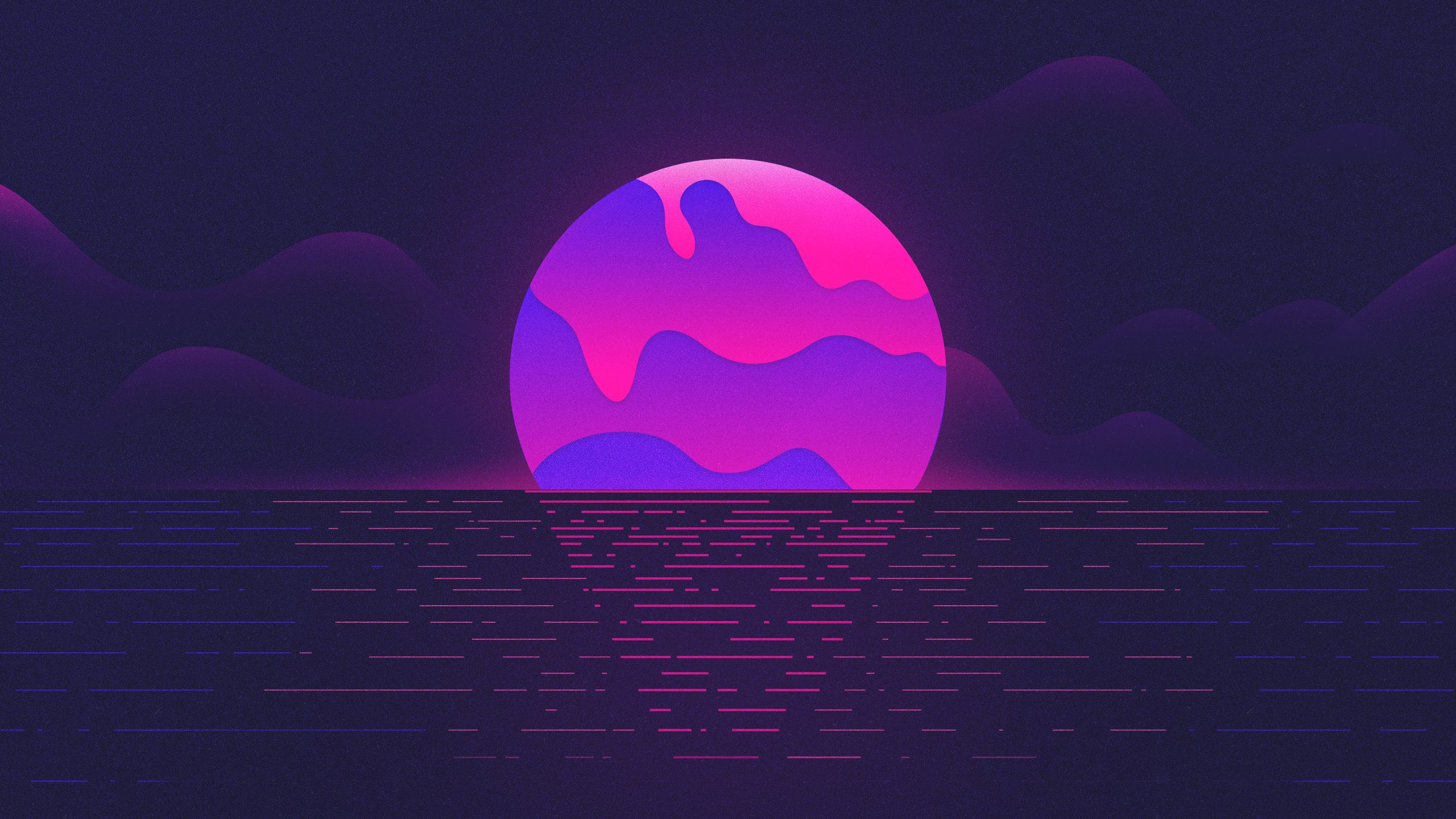 Aesthetic Vaporwave 2560x1440 Wallpapers Wallpaper Cave