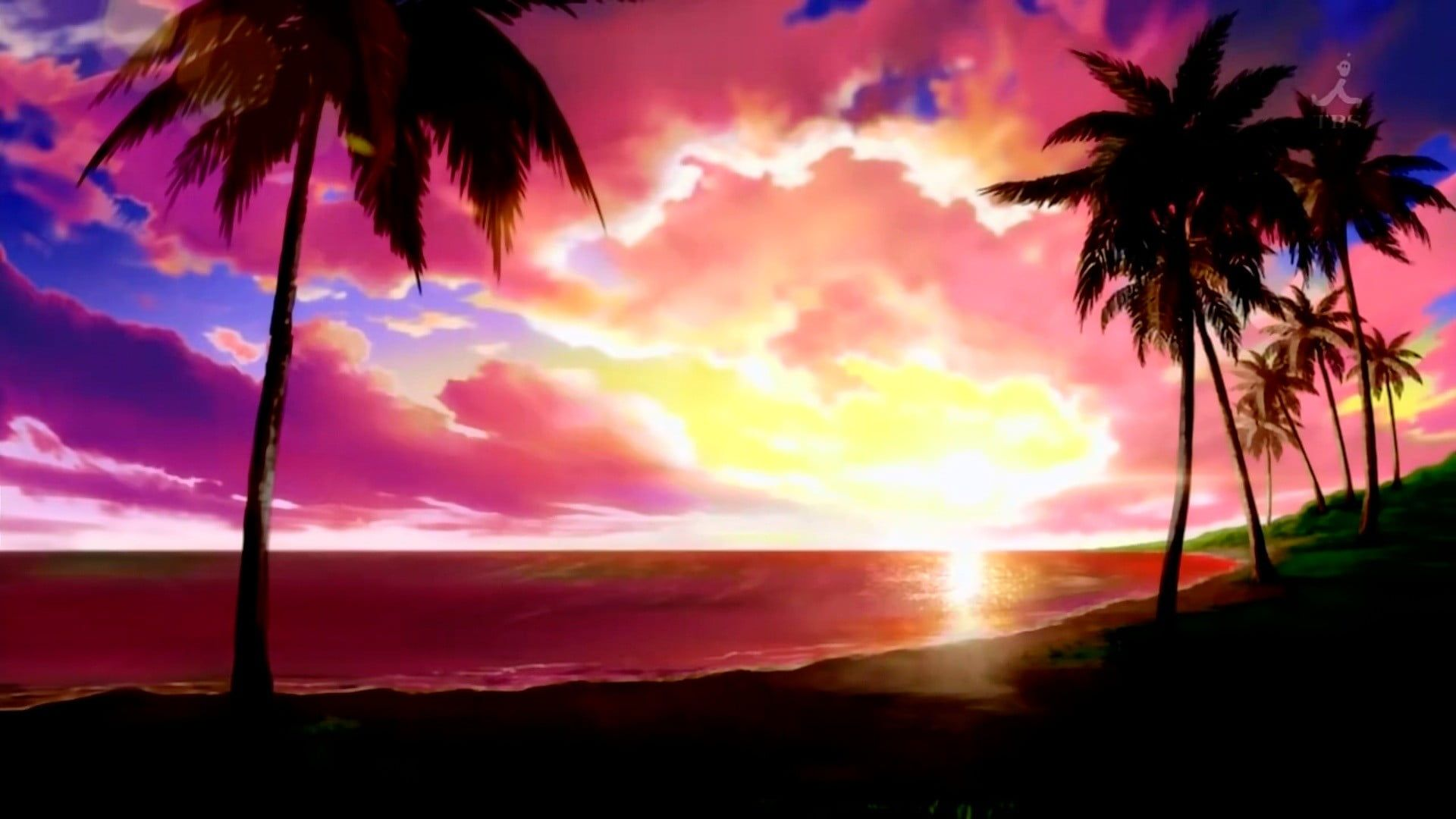 Anime Sunset 1920x1080 Wallpapers - Wallpaper Cave