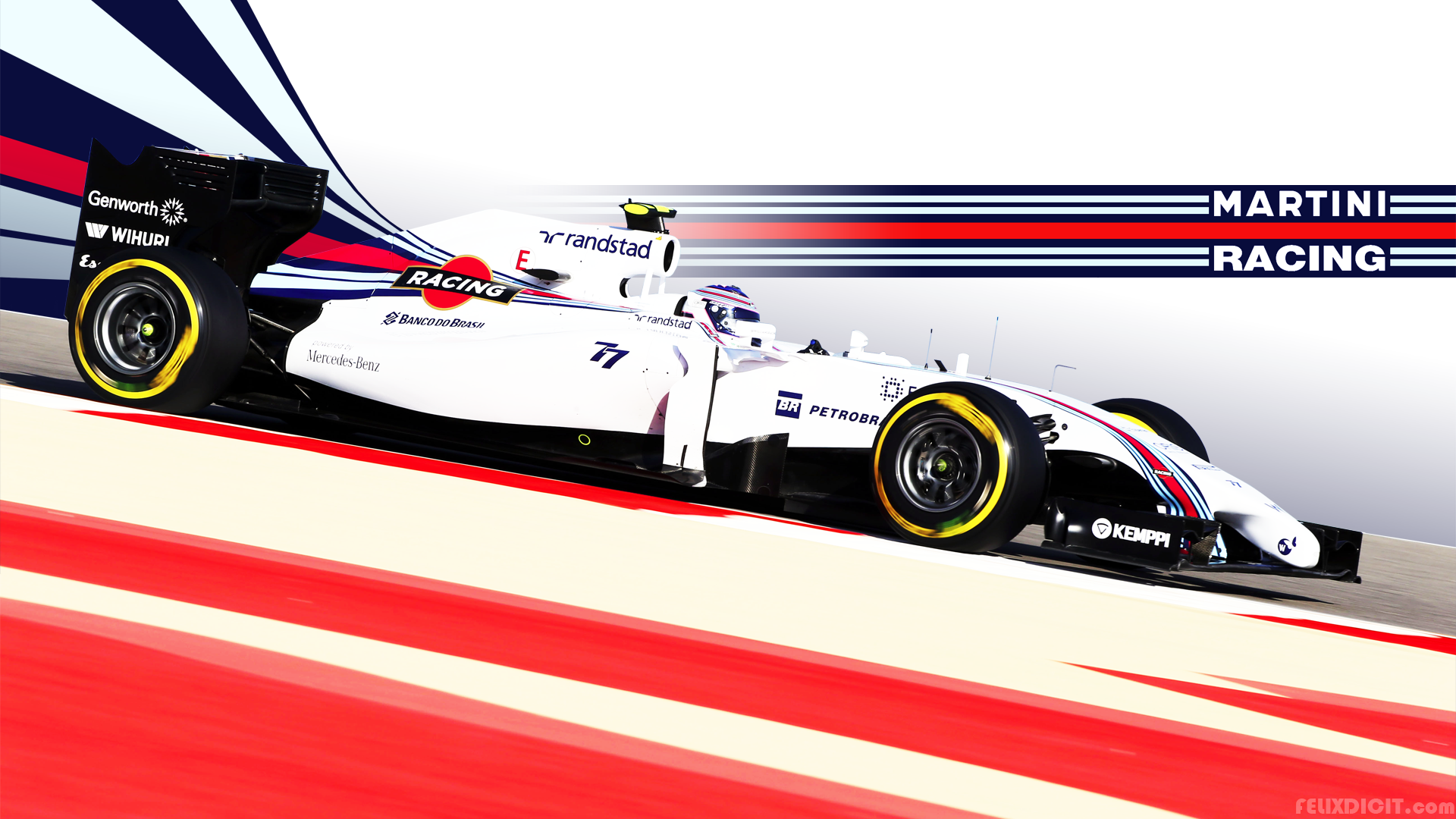 Williams Racing Zoom Background 2