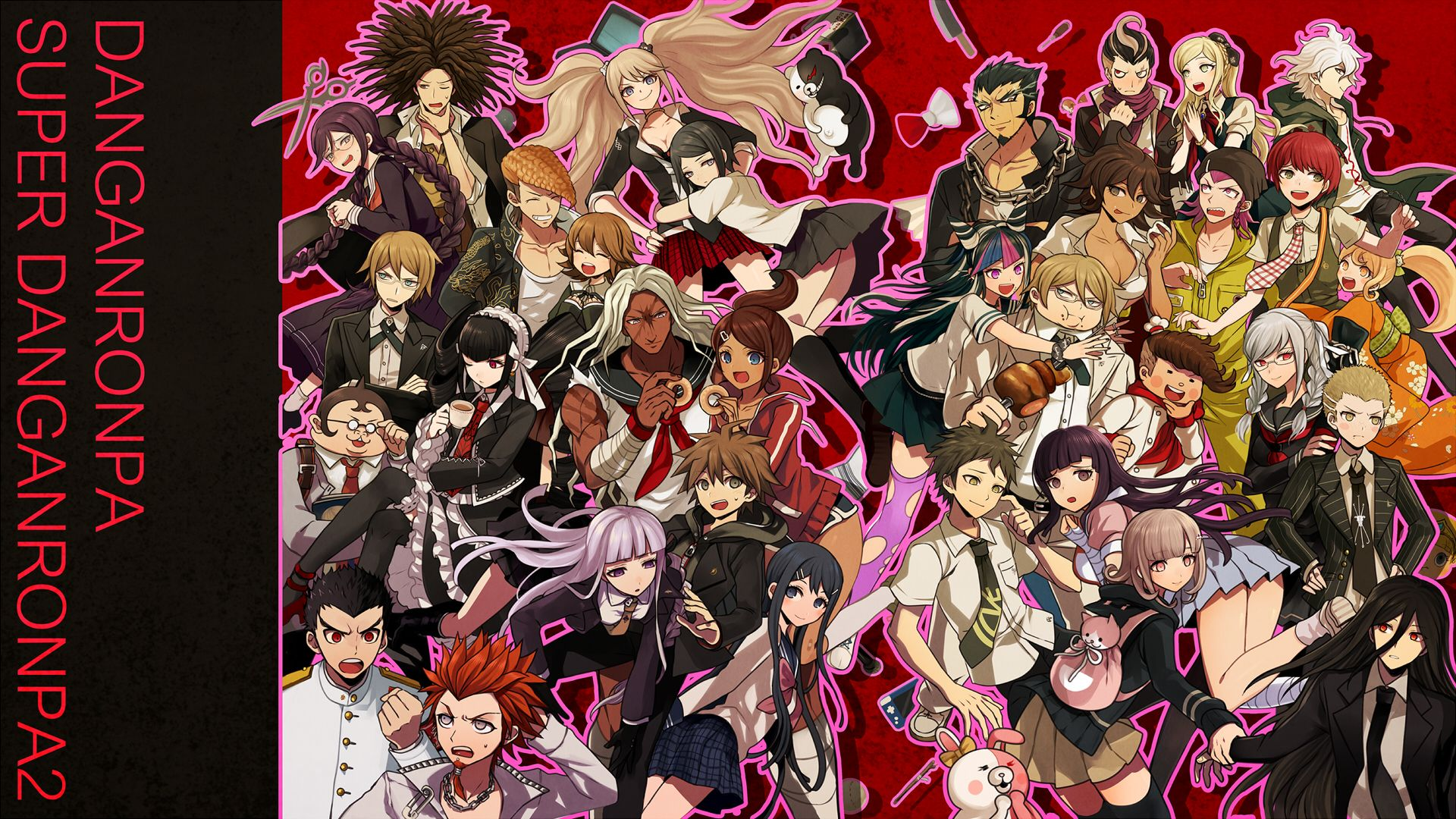 Danganronpa Desktop Wallpapers Wallpaper Cave