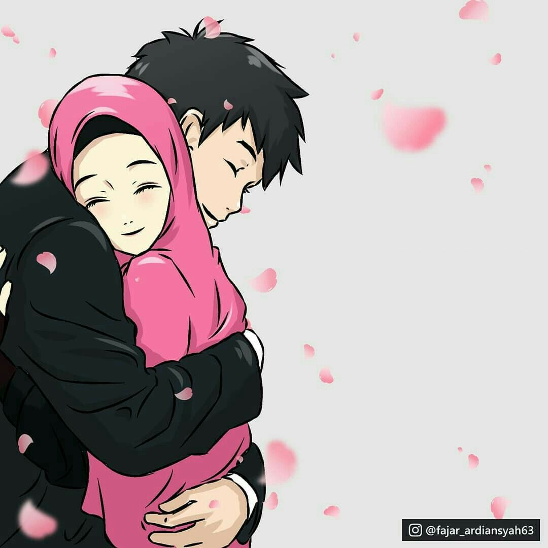 Anime Muslim Couple Wallpapers - Wallpaper Cave