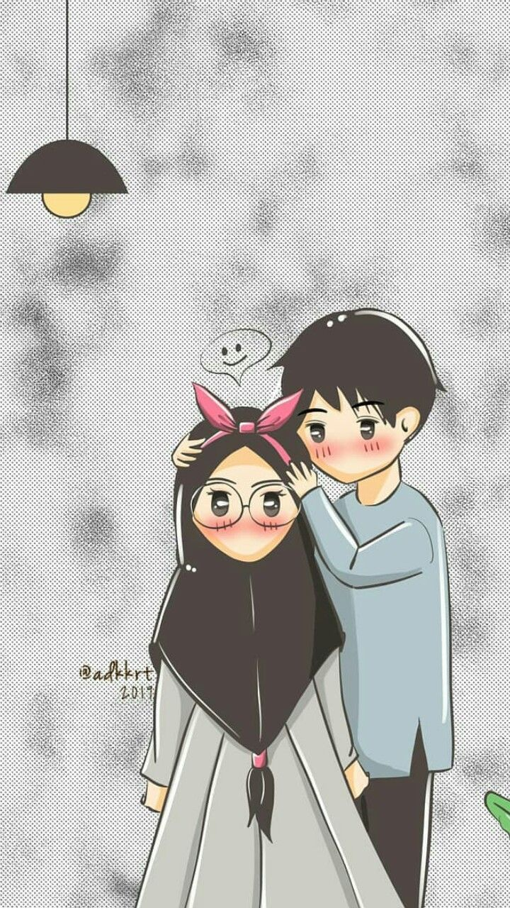 Islamic Couple Anime Wallpapers Wallpaper Cave