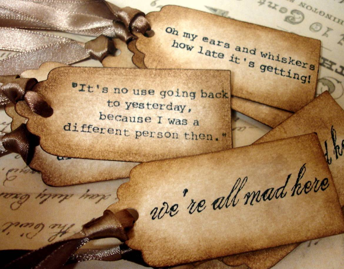 Alice In Wonderland Quotes Wallpapers Wallpaper Cave