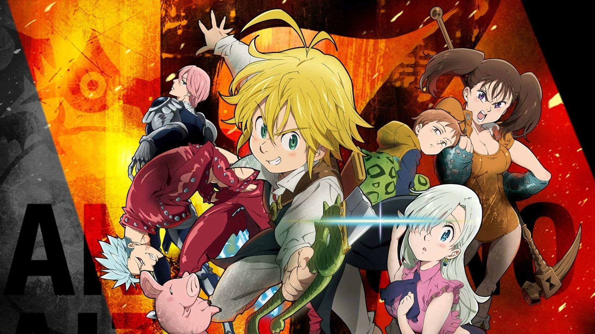 Seven Deadly Sins Minimalist Anime Wallpapers - Wallpaper Cave