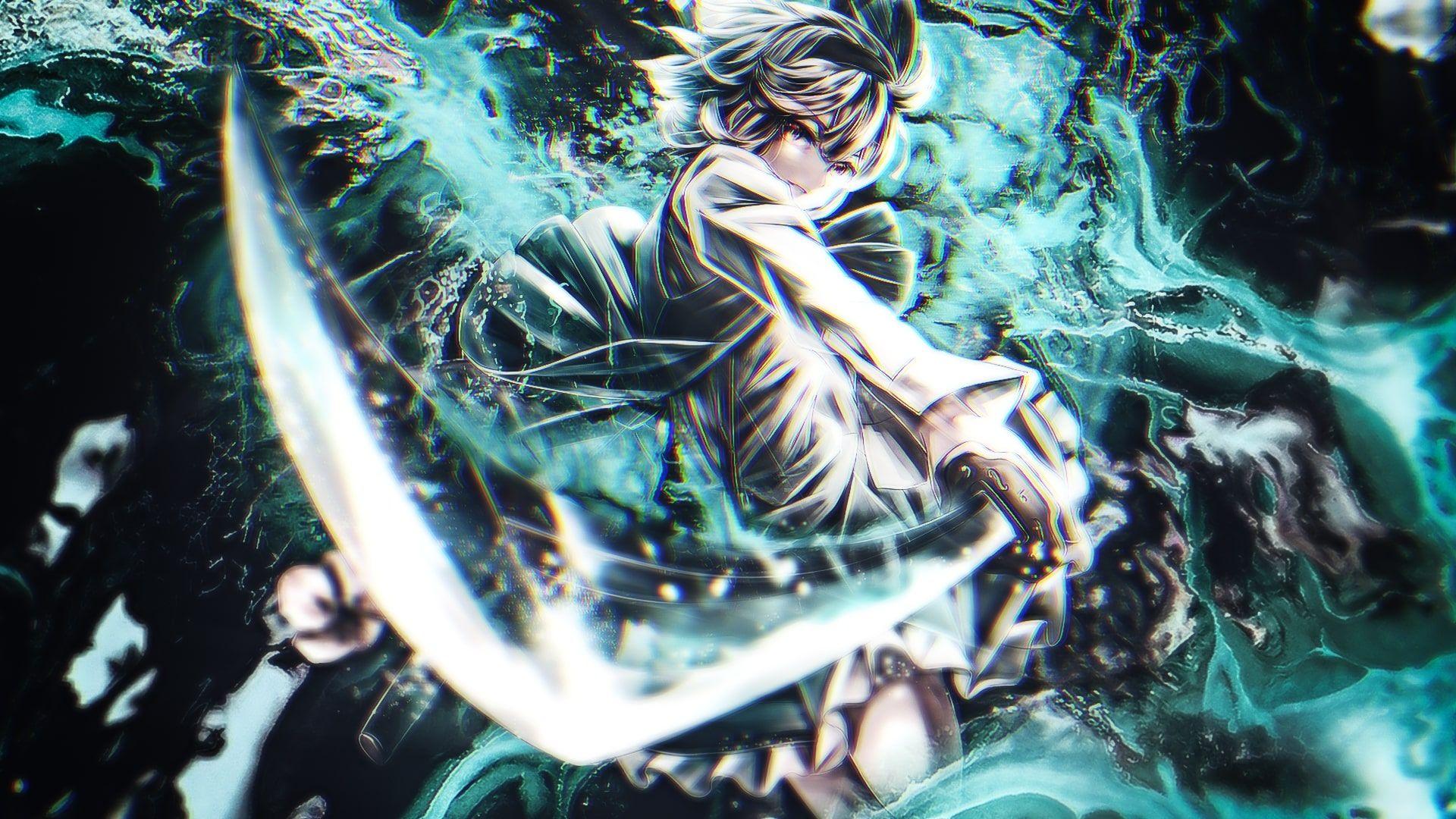 Anime Sword Badass Wallpapers - Wallpaper Cave