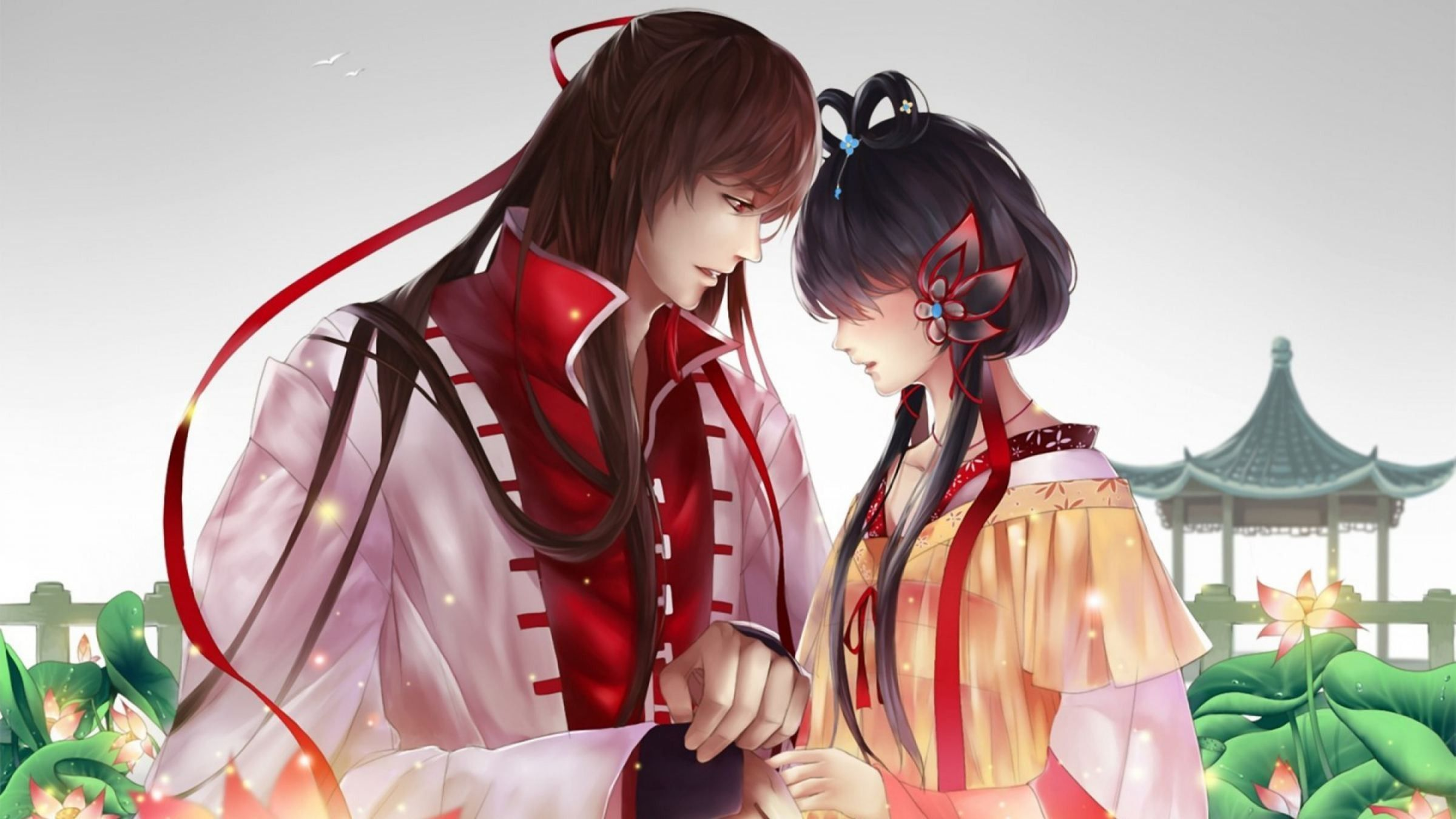 Cute Anime Couple HD Wallpapers - Wallpaper Cave