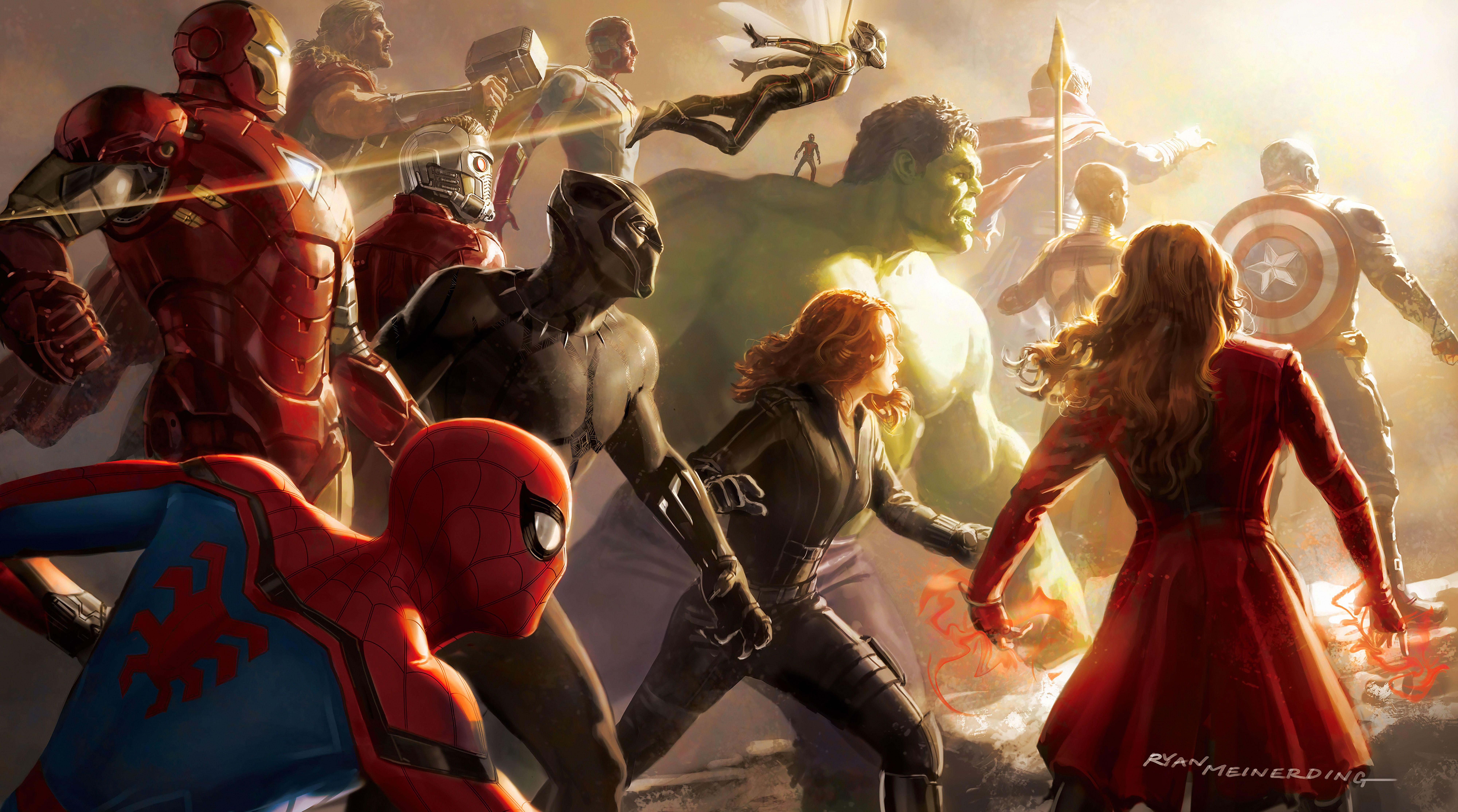 Avengers Desktop 4k Wallpapers - Wallpaper Cave