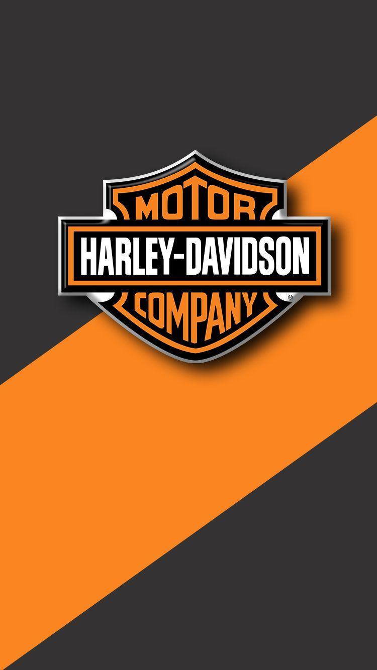 Harley Davidson Logo Phone Wallpapers Wallpaper Cave