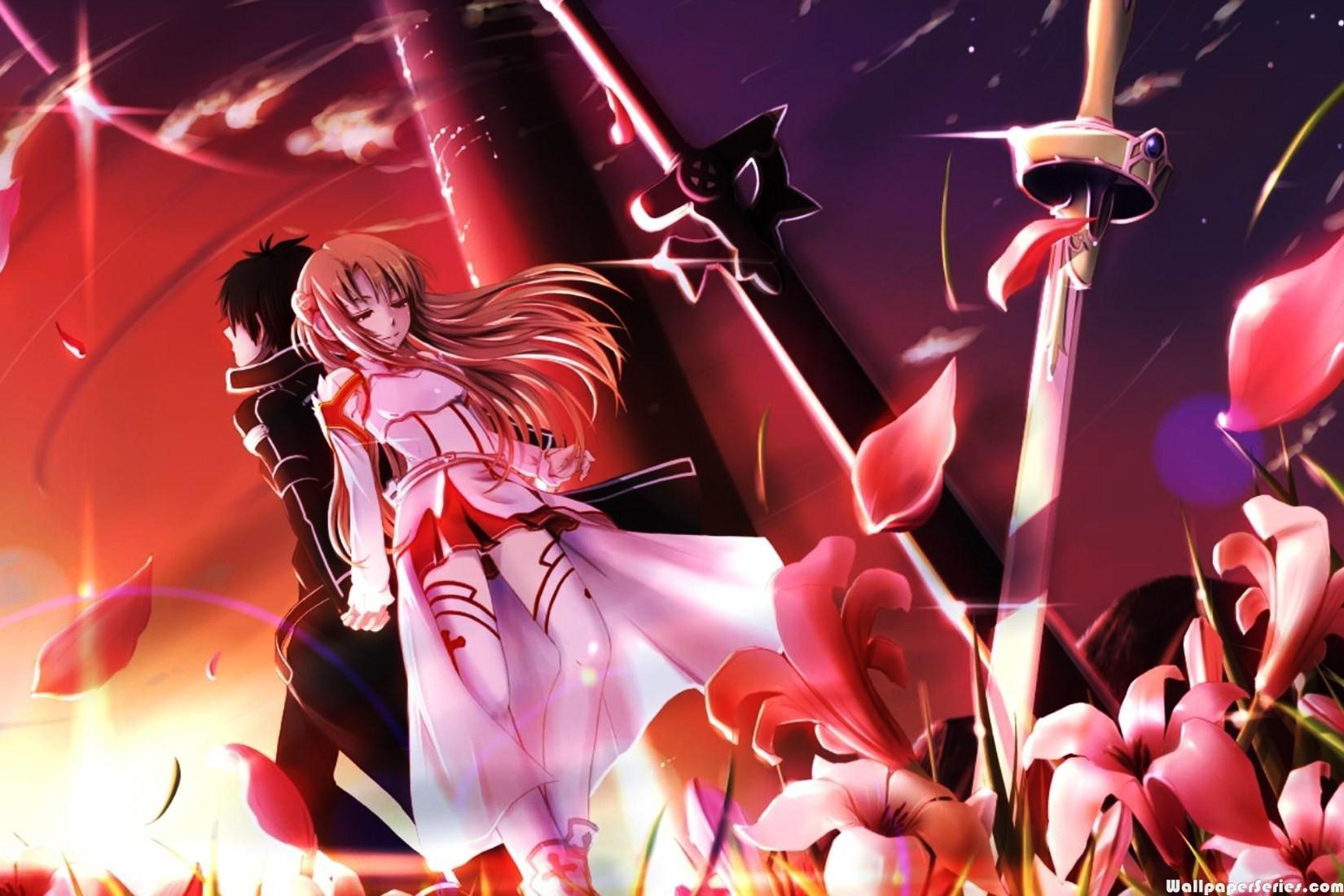 Anime HD SAO Wallpapers - Wallpaper Cave