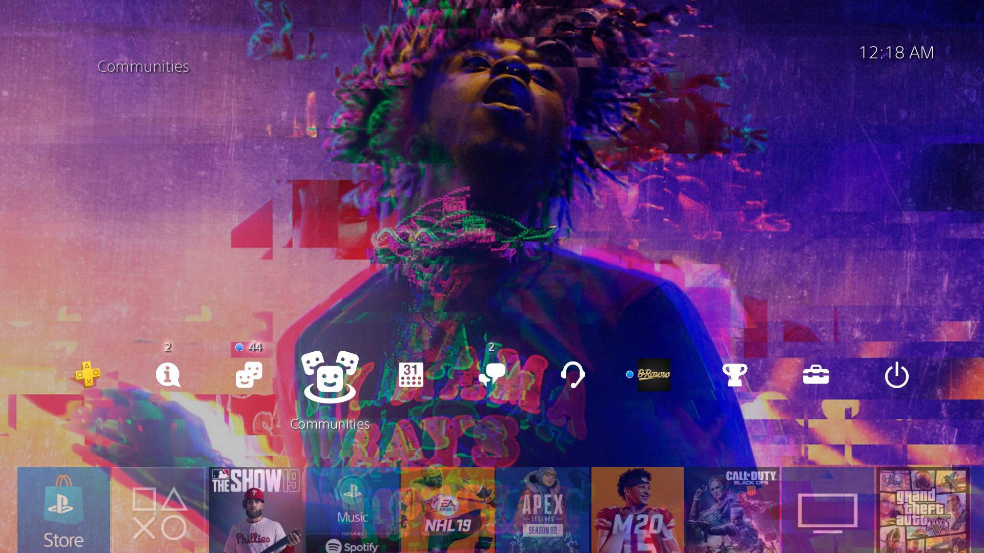 Lil Uzi Vert Ps4 Wallpapers Wallpaper Cave Get hd images of the popular hip hop artist lil uzi vert as well as quick access to his socials. lil uzi vert ps4 wallpapers wallpaper
