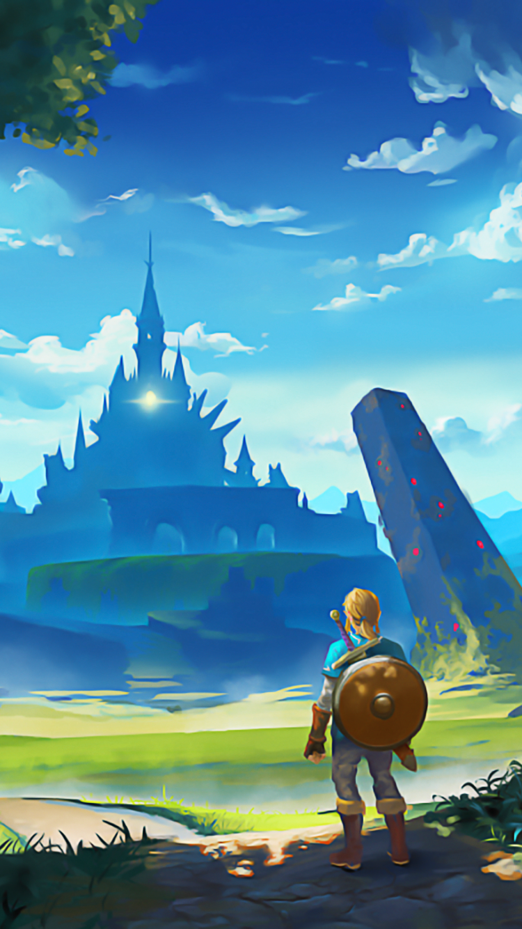 Legend Of Zelda Breath Of The Wild Phone Wallpapers Wallpaper Cave