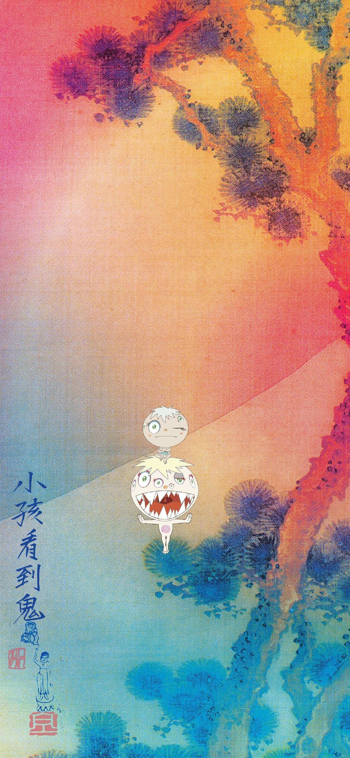 Kids See Ghosts iPhone 7 Wallpapers - Wallpaper Cave