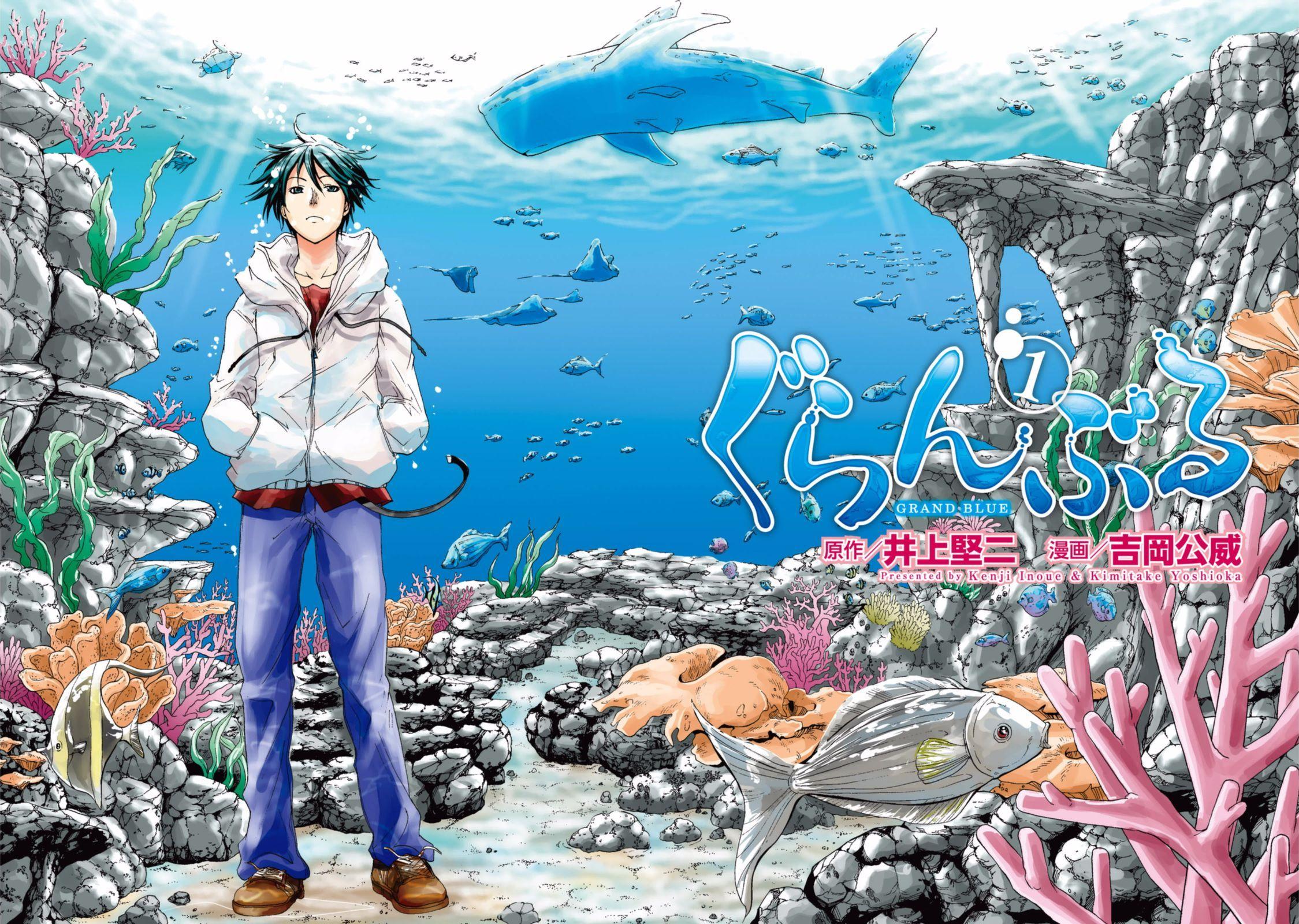 Grand Blue Anime Desktop Wallpapers Wallpaper Cave