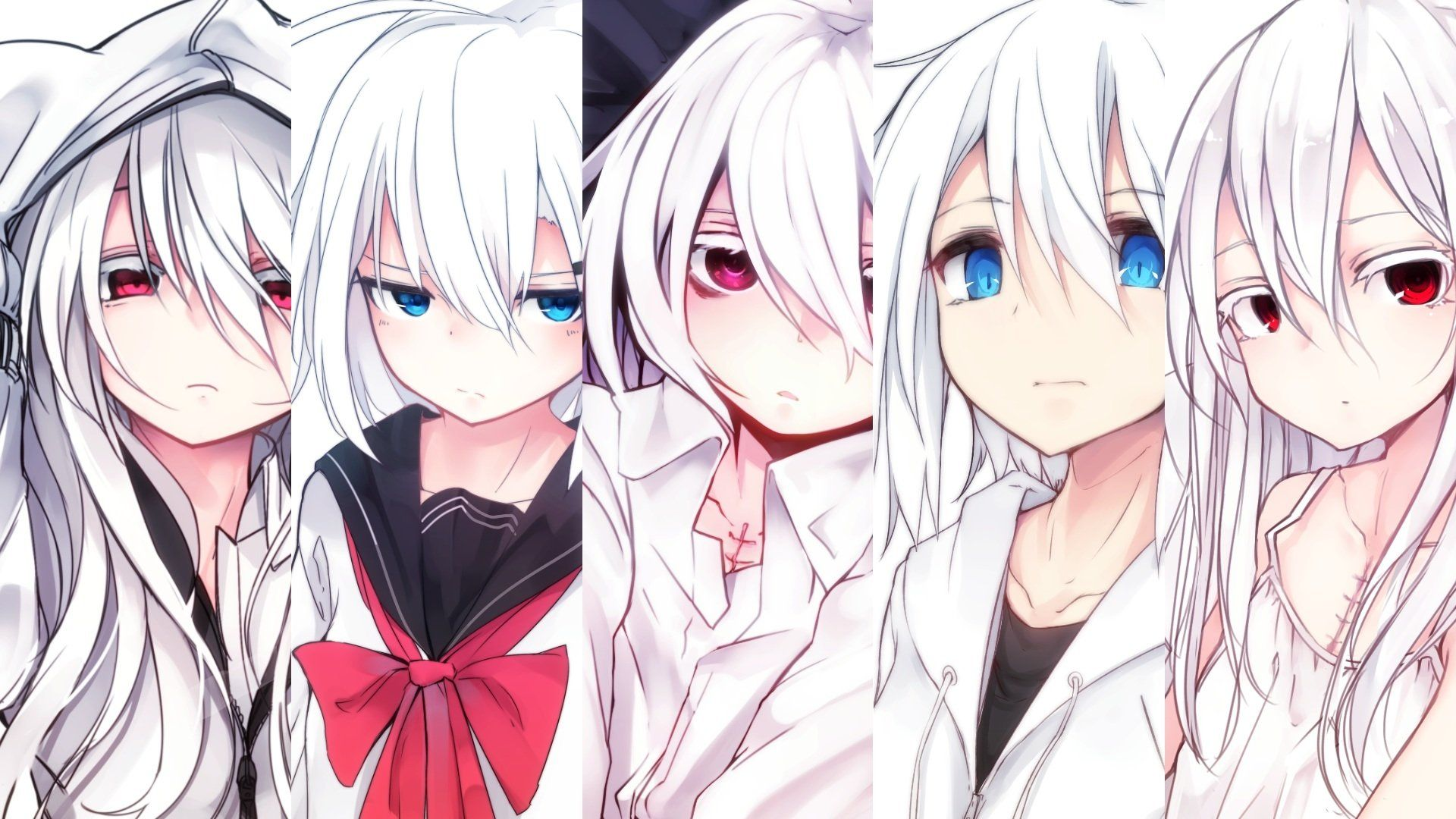 Group Anime Girl Wallpapers Wallpaper Cave
