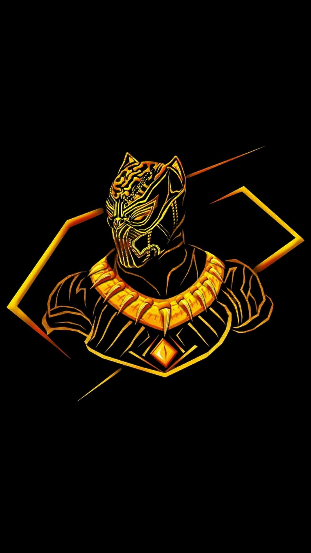 Black Panther Logo Android Wallpapers - Wallpaper Cave