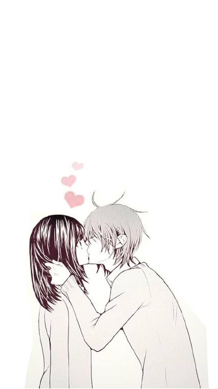 Anime Lip Kiss Wallpapers - Wallpaper Cave