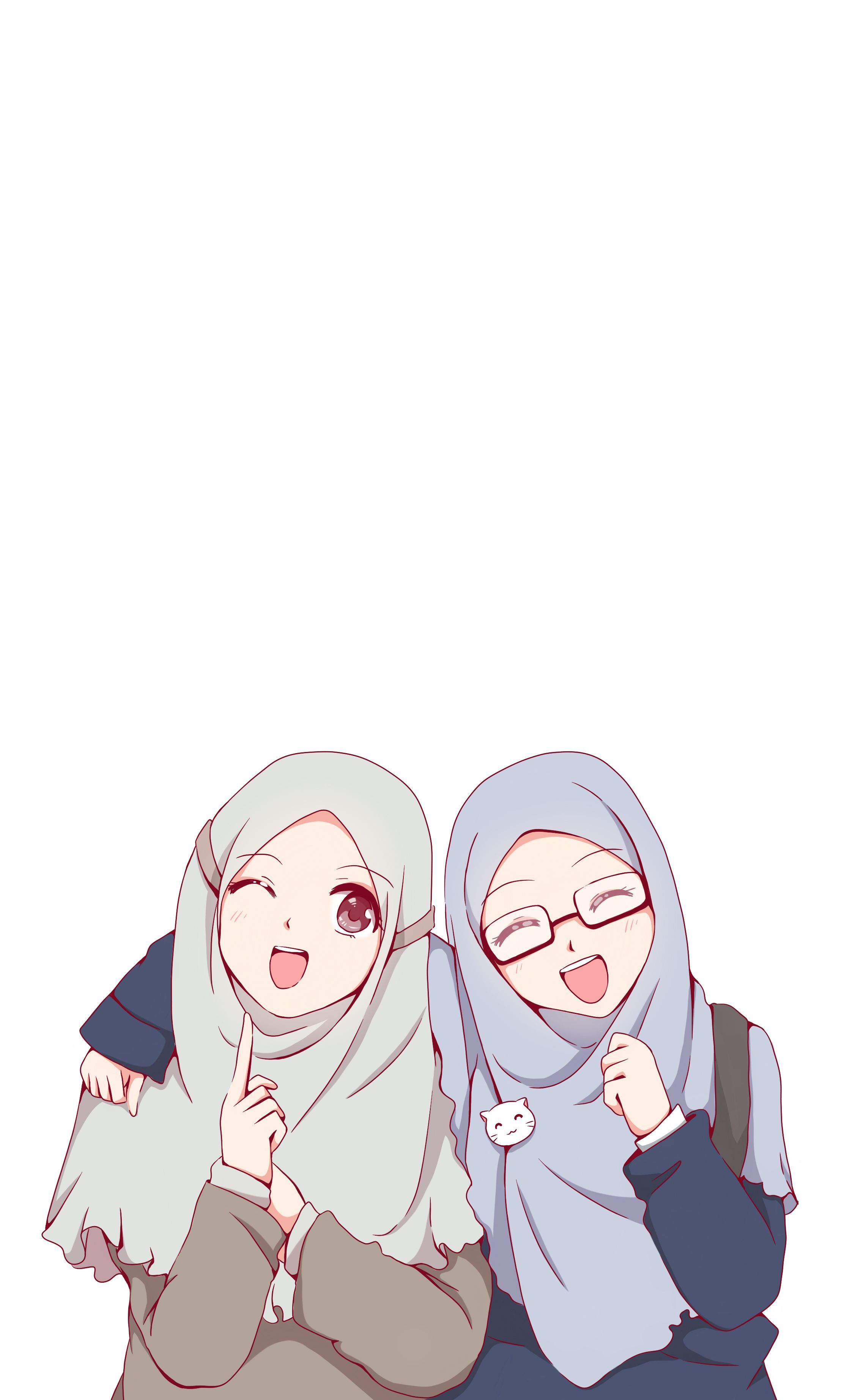 Islamic Girls Drawing Anime Wallpapers Wallpaper Cave