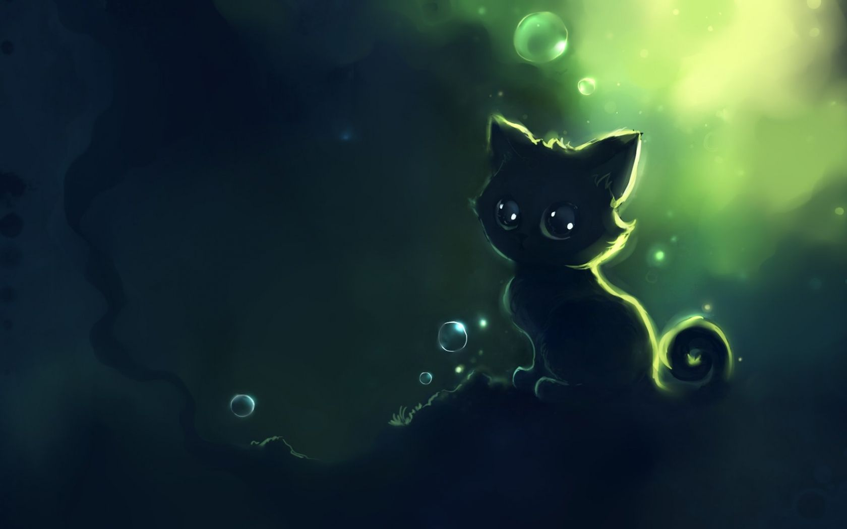 Anime Hd Green Wallpapers Wallpaper Cave
