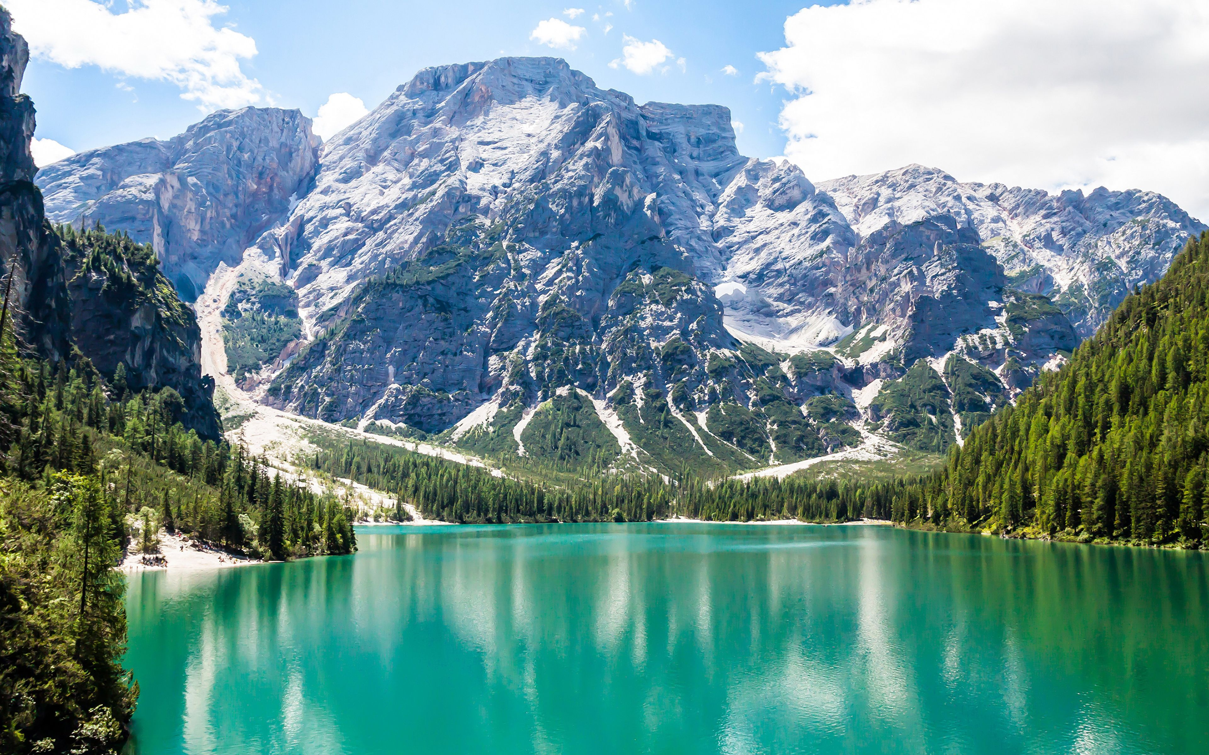 Austria Lake Mountain Environment Nature Landscape HD POSTER