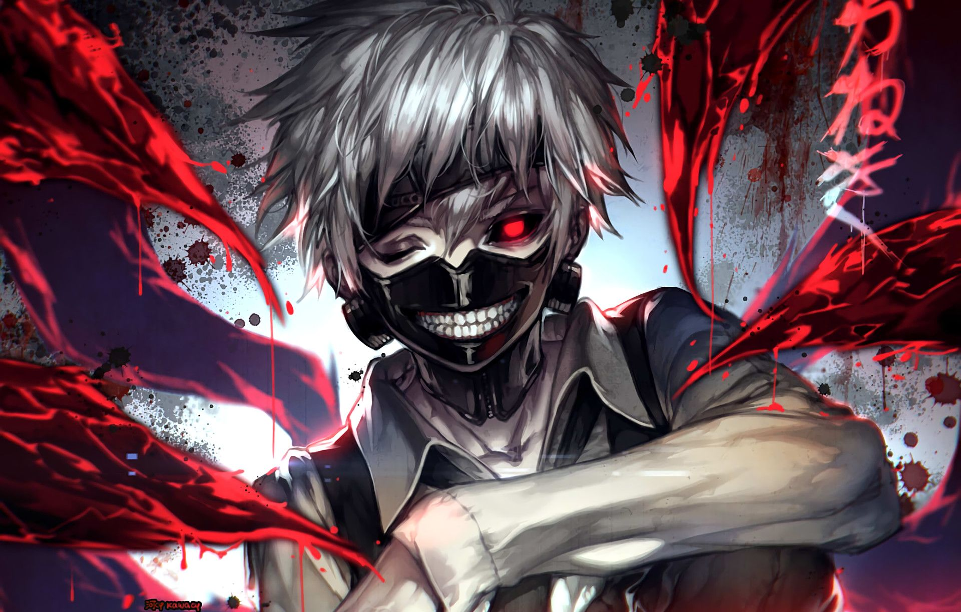 Crazy Creepy Anime Wallpapers - Wallpaper Cave