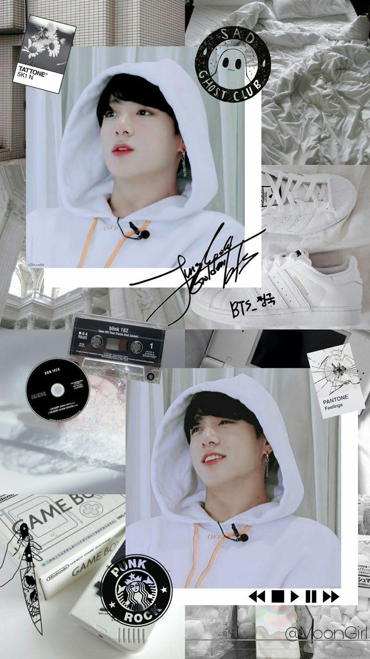 bts jungkook aesthetic wallpapers