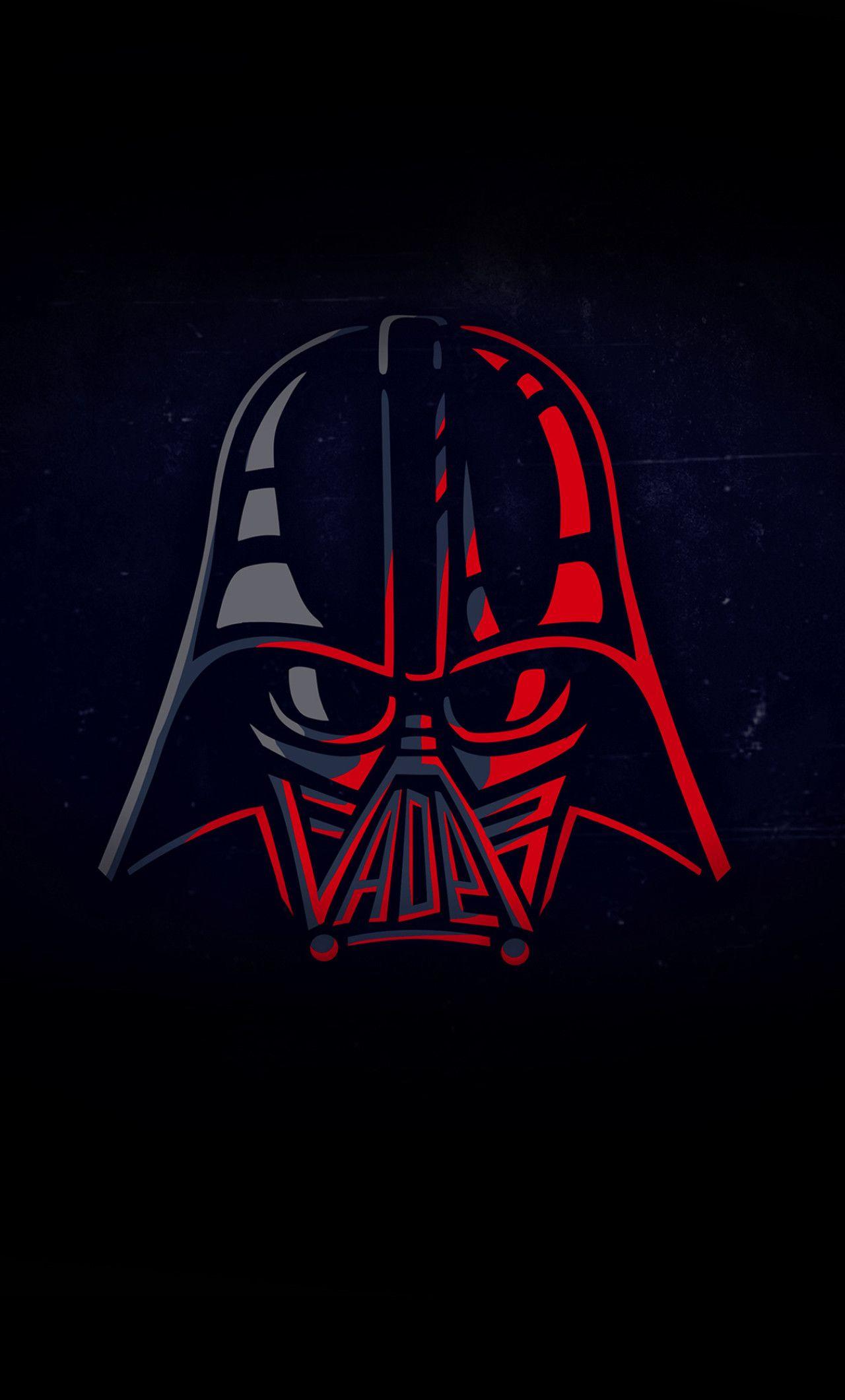 Minimalist Darth Vader Grey Wallpapers Wallpaper Cave