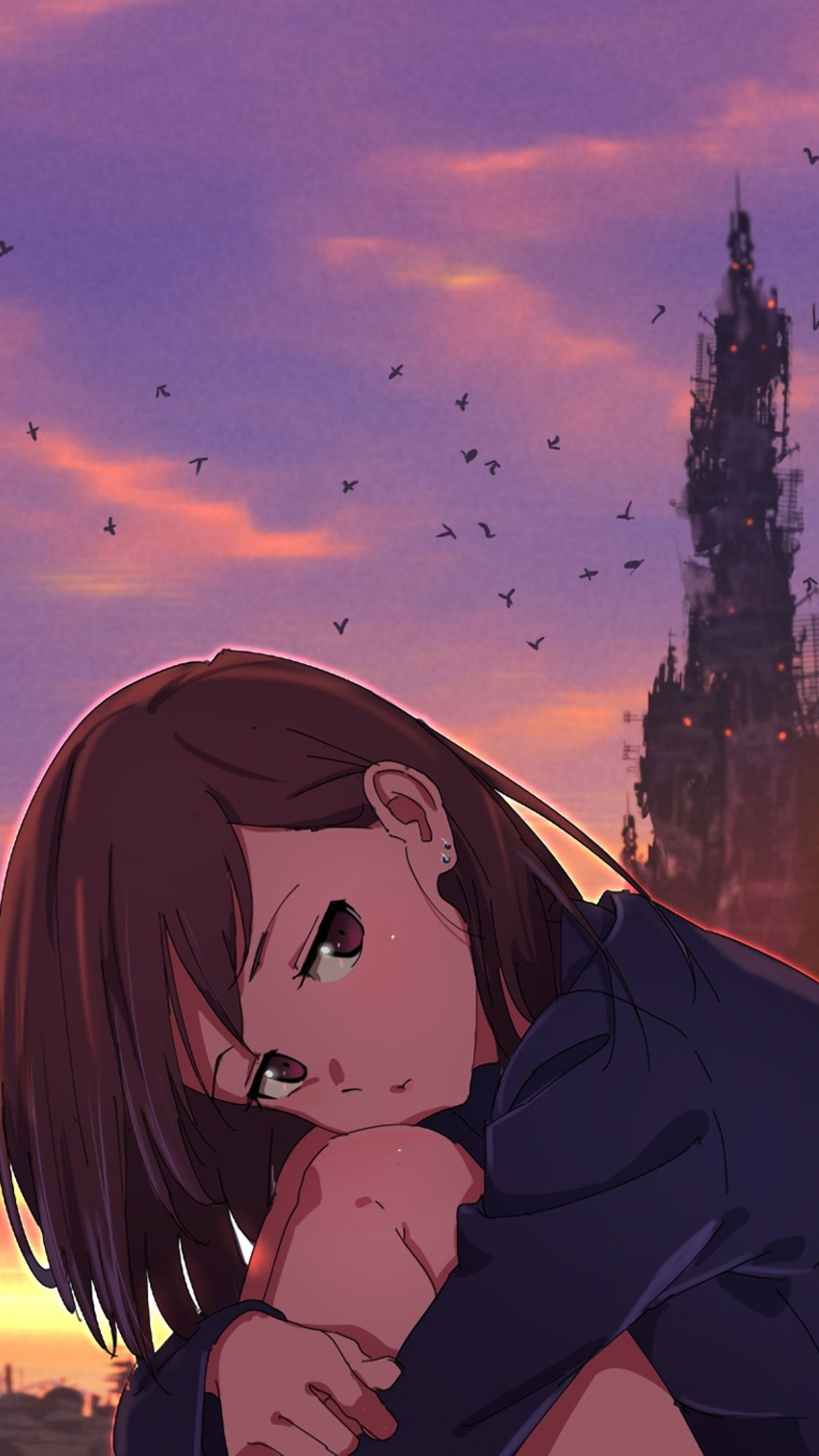 Broken Anime Couple Wallpapers Wallpaper Cave