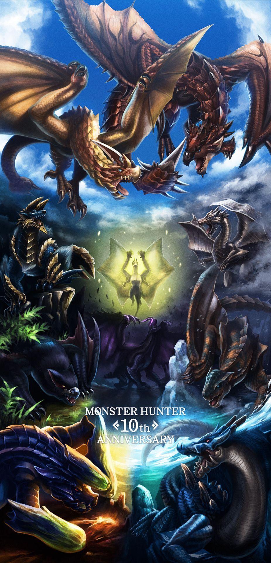 Monster Hunter Phone HD Wallpapers - Wallpaper Cave