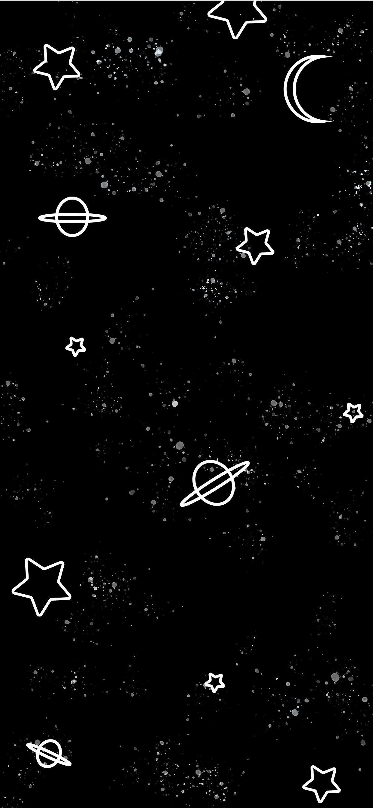 Black Cute iPhone Wallpapers - Wallpaper Cave