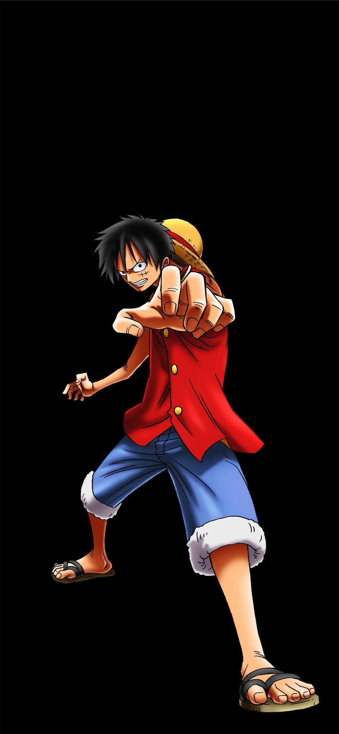 Monkey D Luffy Amoled Wallpapers Wallpaper Cave