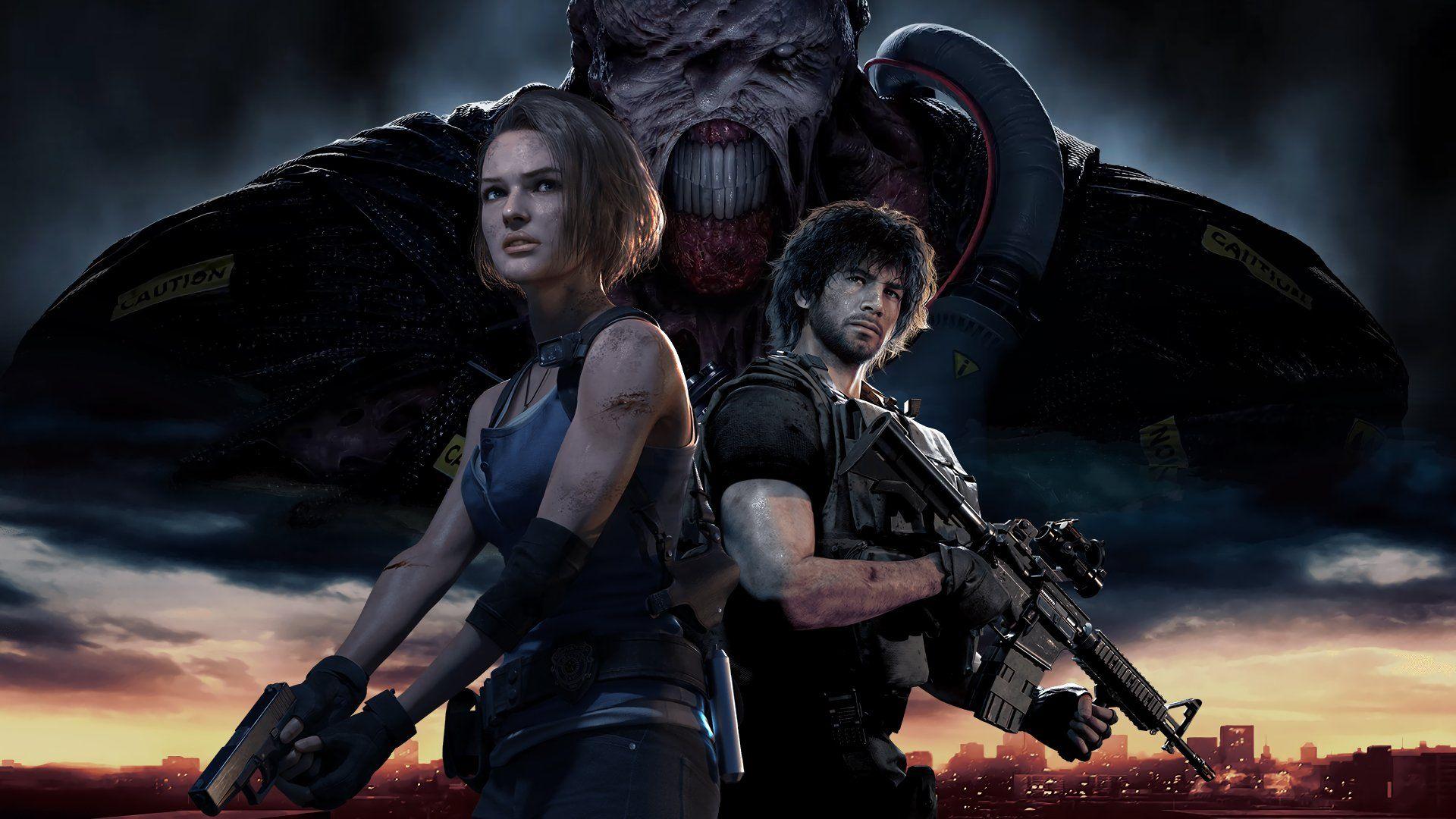 Resident Evil 3 Remake Desktop Wallpapers Wallpaper Cave