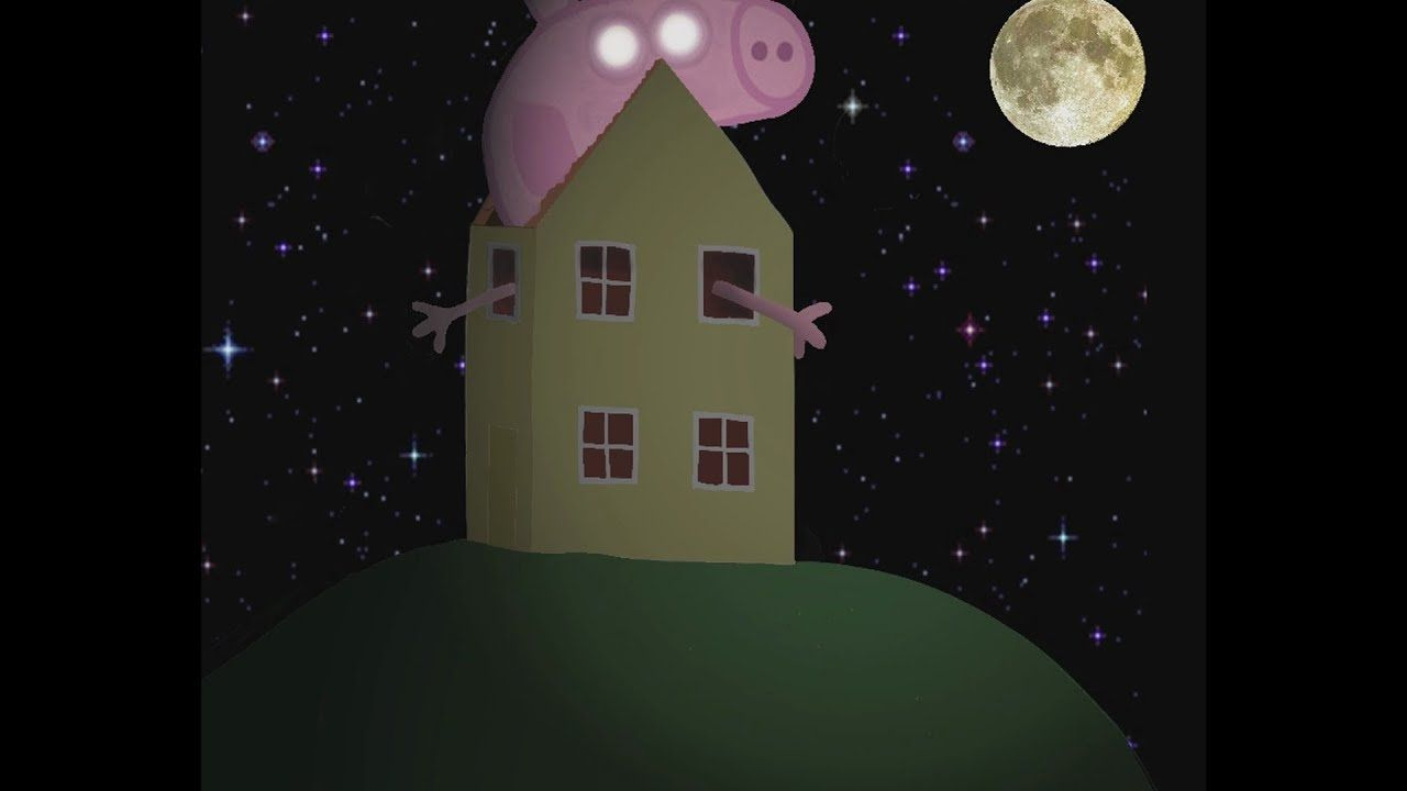Scary Peppa Pig Wallpapers Wallpaper Cave