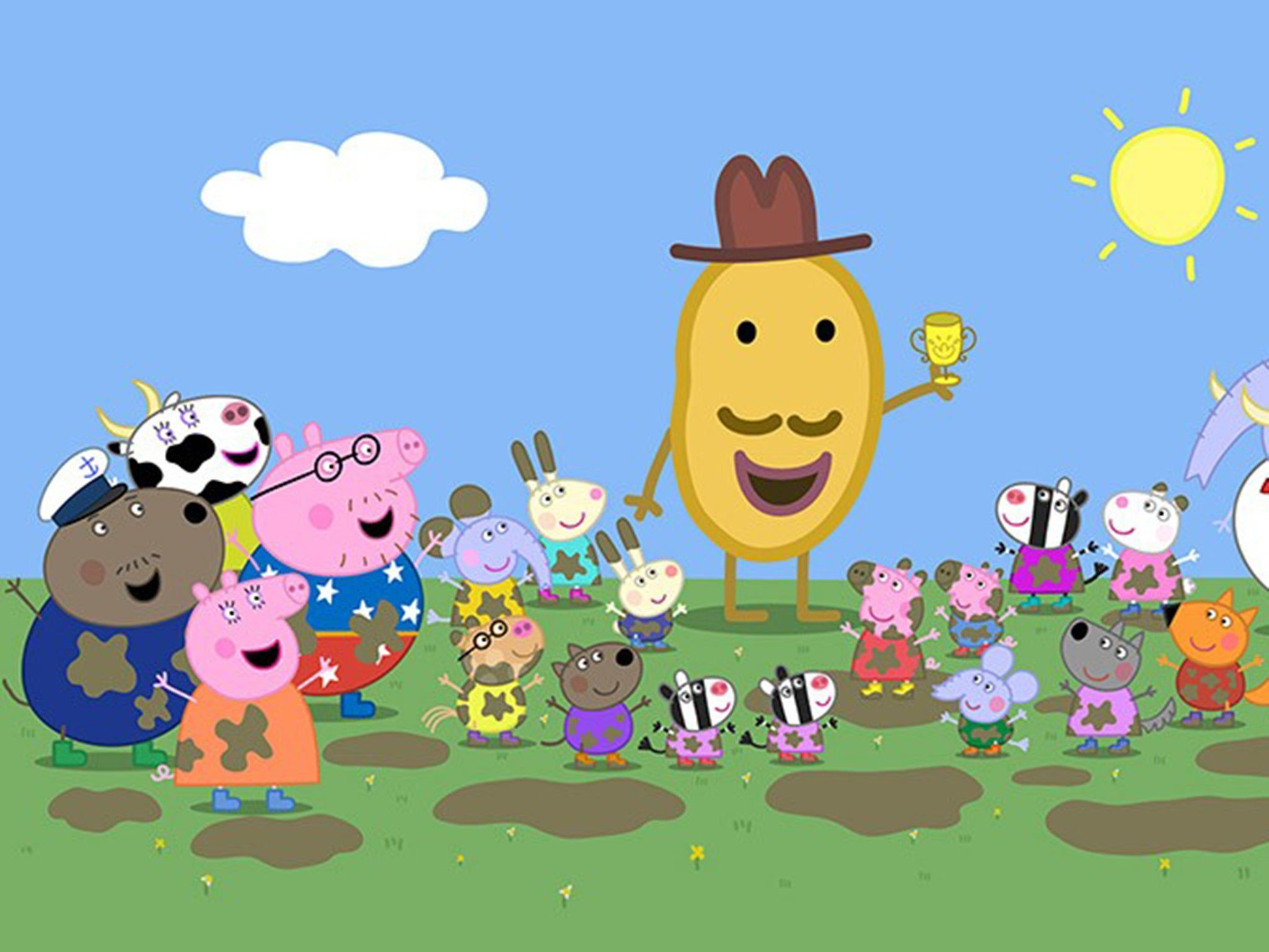 TV cartoon Peppa Pig – now worth $1bn a year – is making the leap