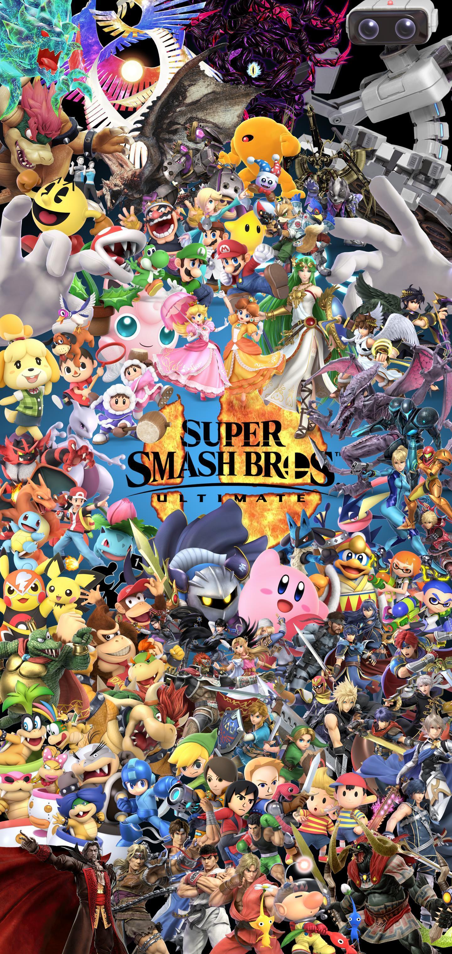 Smash Bros. Phone Wallpapers - Wallpaper Cave