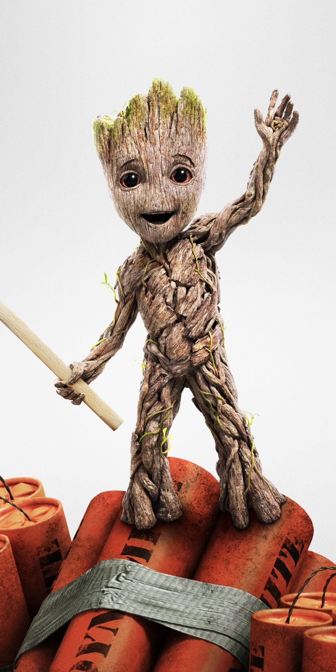 Baby Groot Amoled Wallpapers - Wallpaper Cave