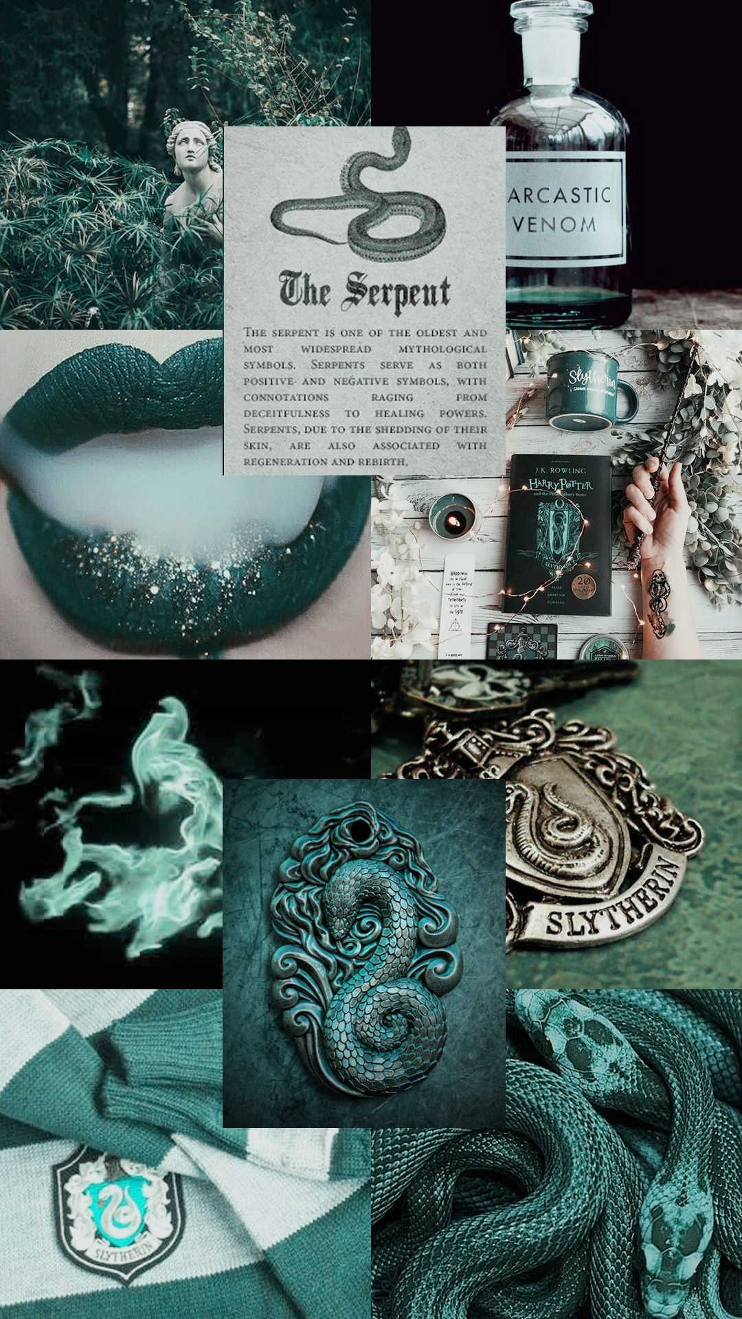 Harry Potter Iphone Slytherin Wallpapers Wallpaper Cave