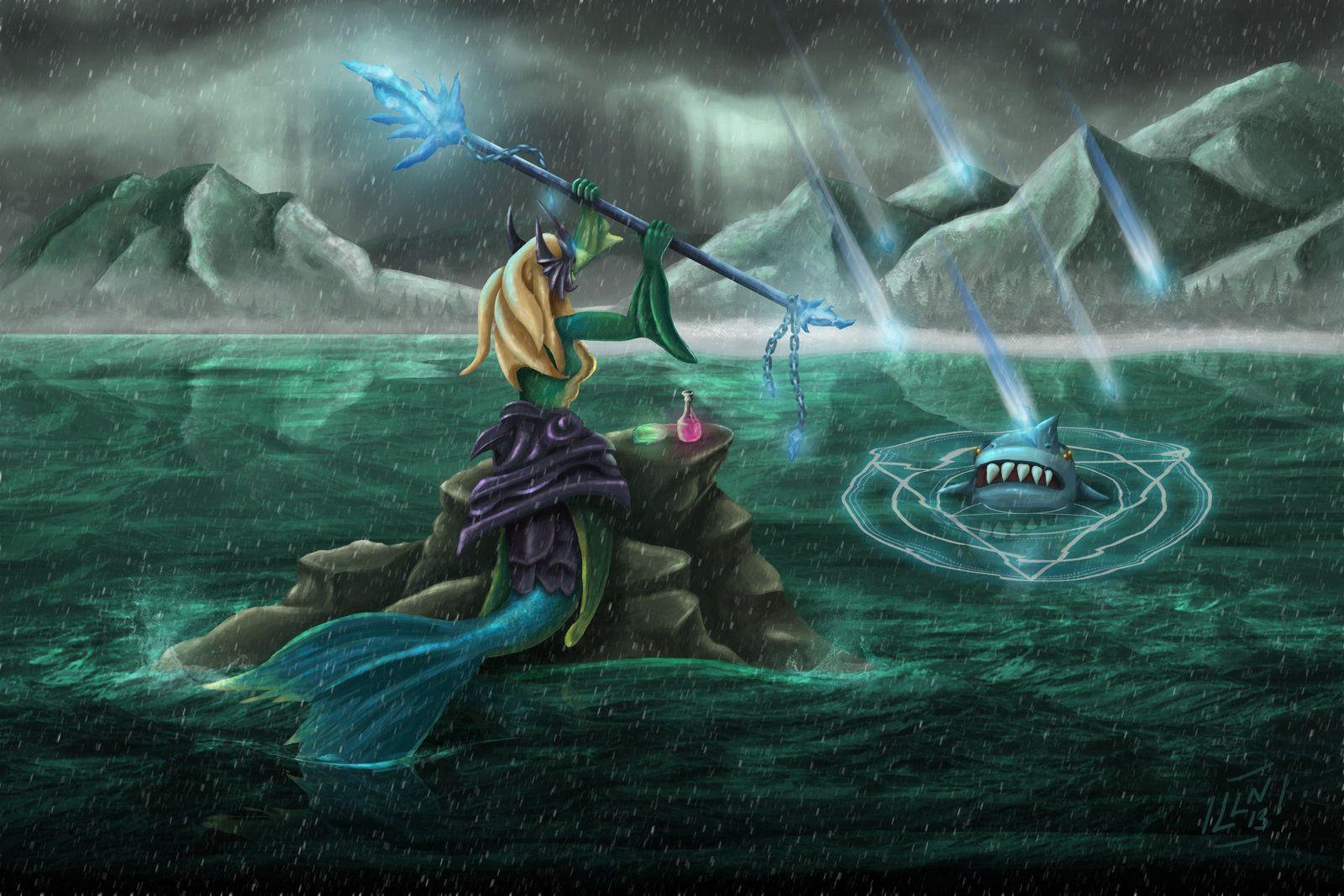 League Of Legends Nami Wallpapers Wallpaper Cave